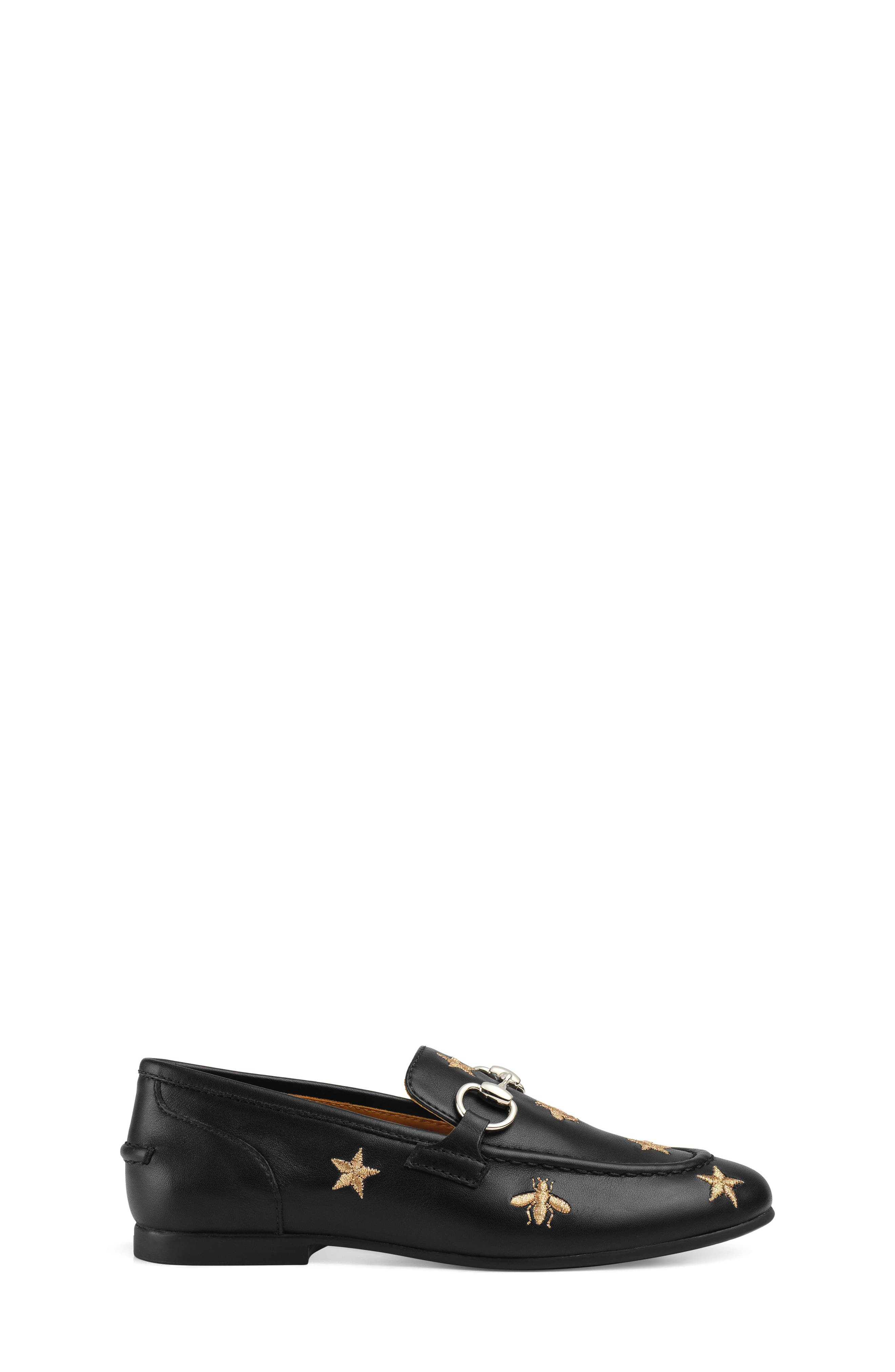 Jordaan Bit Loafer,                             Alternate thumbnail 2, color,                             BLACK