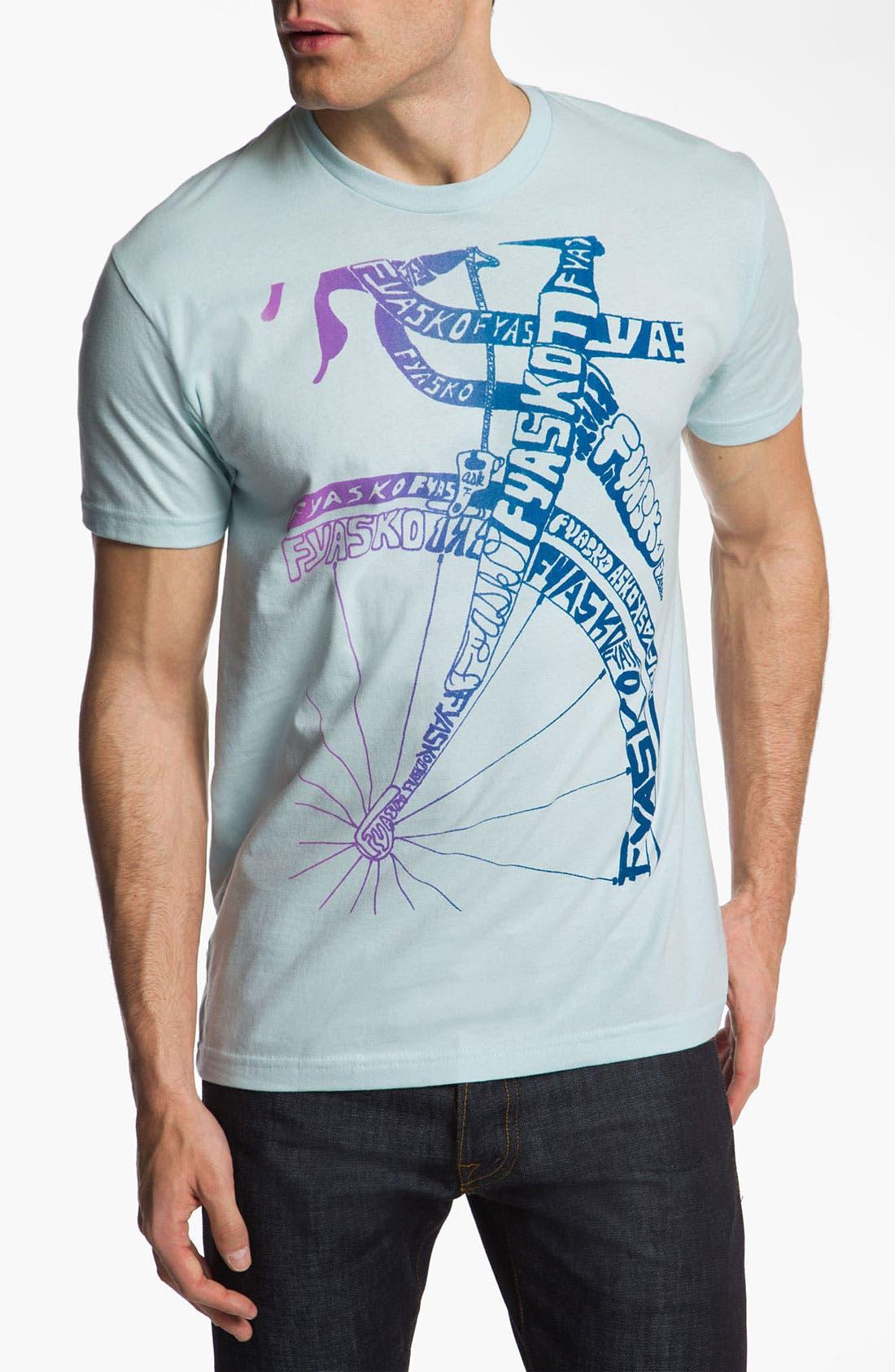 FYASKO 'Knew Stile' T-Shirt, Main, color, 450