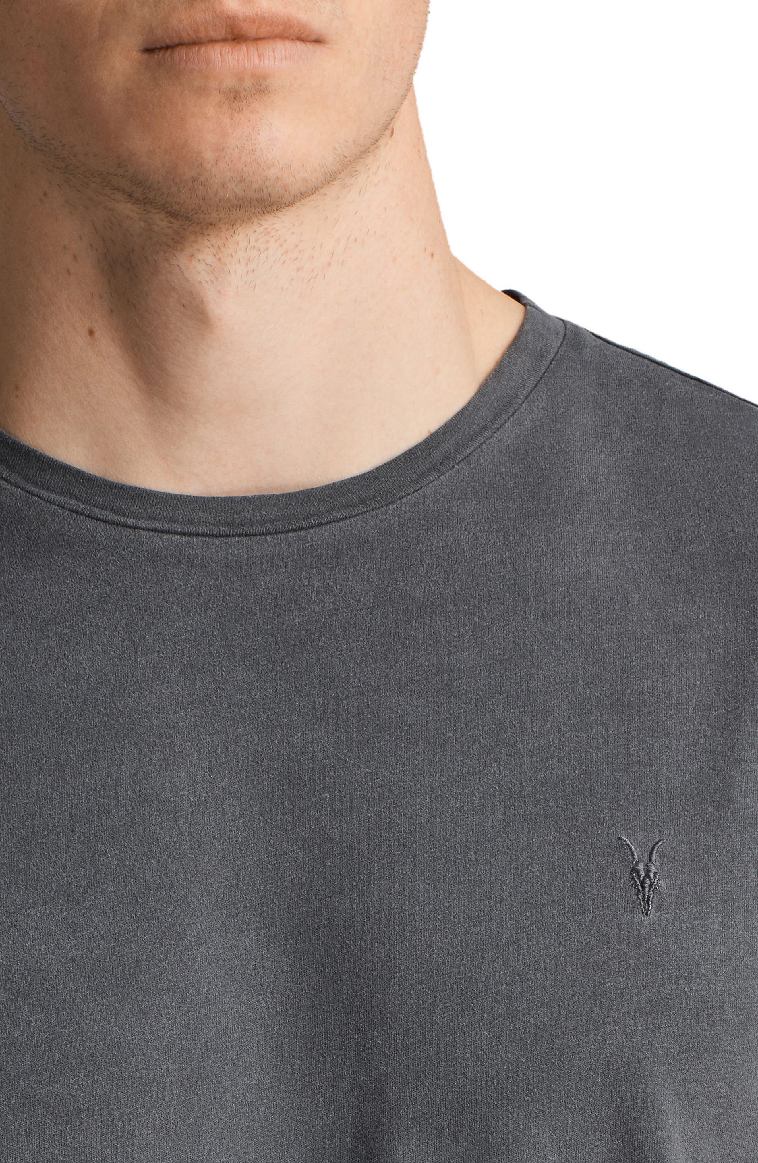Ossage Slim Fit Crewneck T-Shirt,                             Alternate thumbnail 4, color,                             035