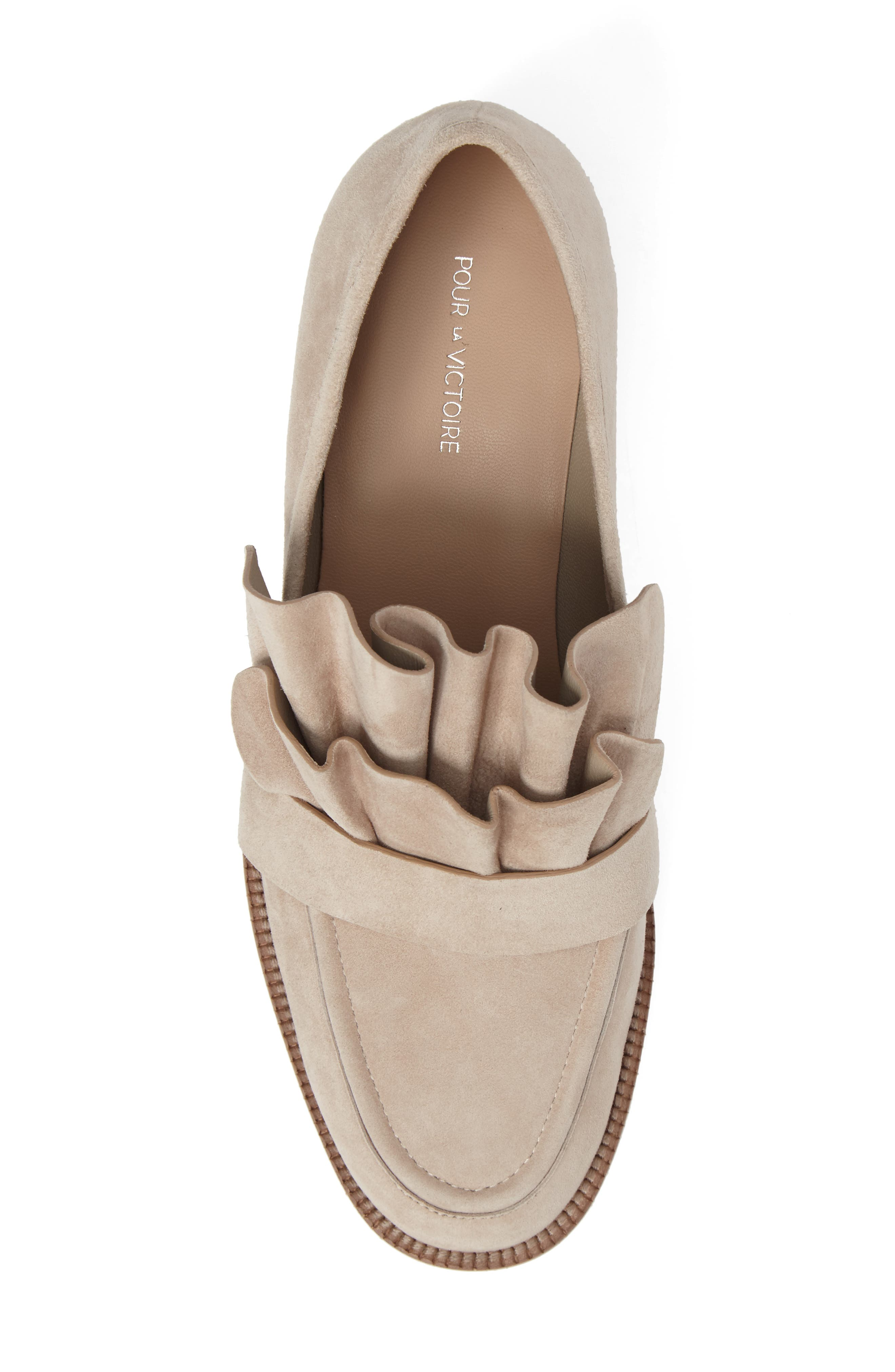 Tenley Ruffled Loafer,                             Alternate thumbnail 19, color,