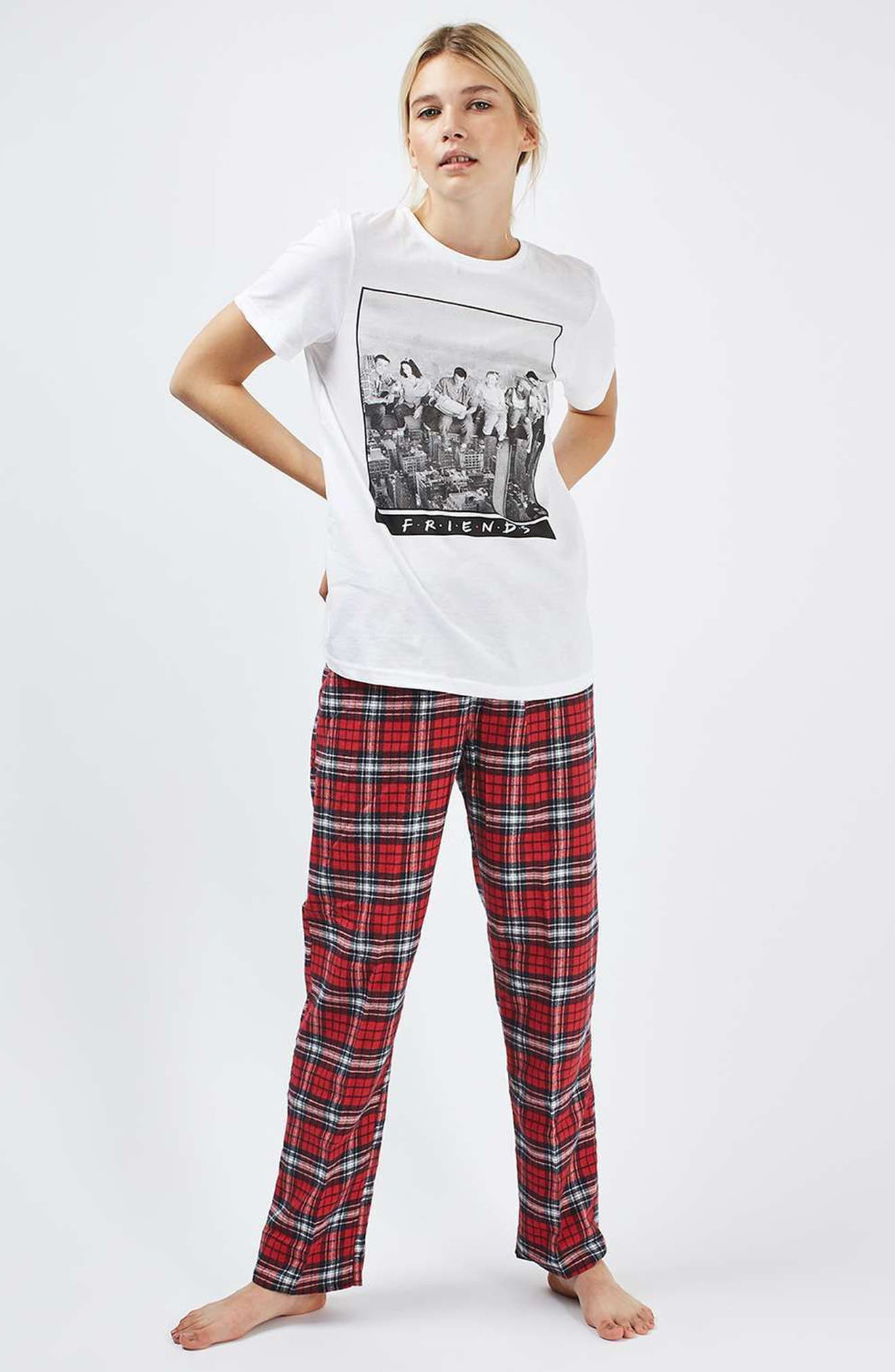 Friends Pajamas,                             Alternate thumbnail 5, color,                             100