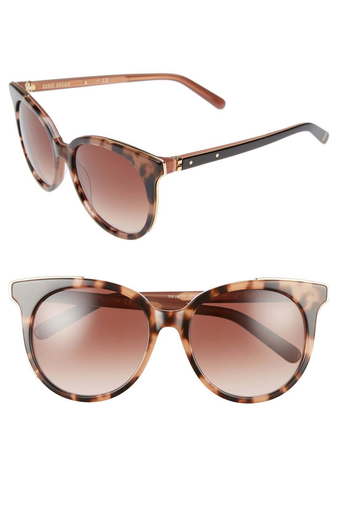 'The Lucy' 54mm Sunglasses,                             Main thumbnail 2, color,