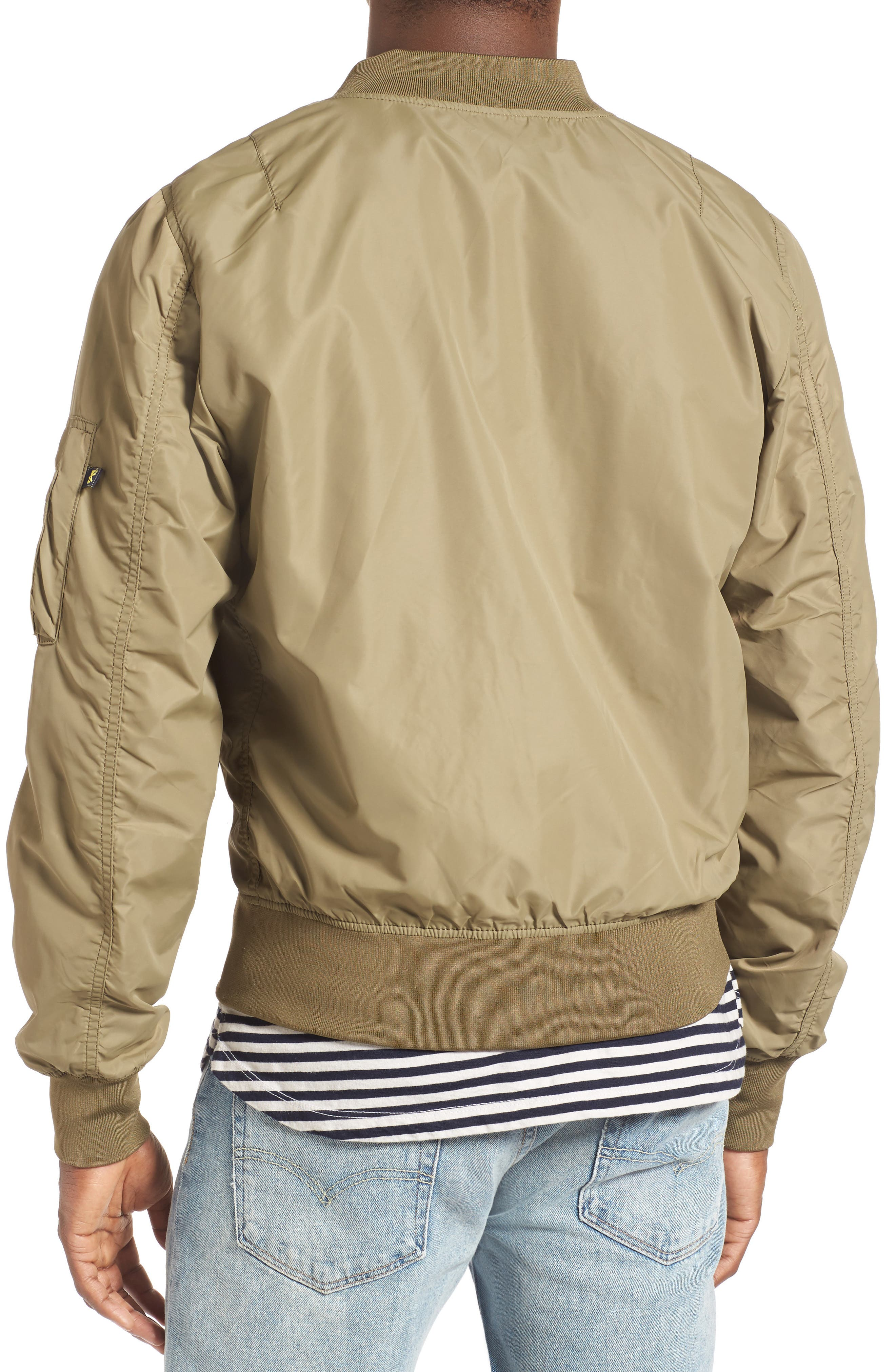 LB-2 Scout Reversible Flight Jacket,                             Alternate thumbnail 13, color,