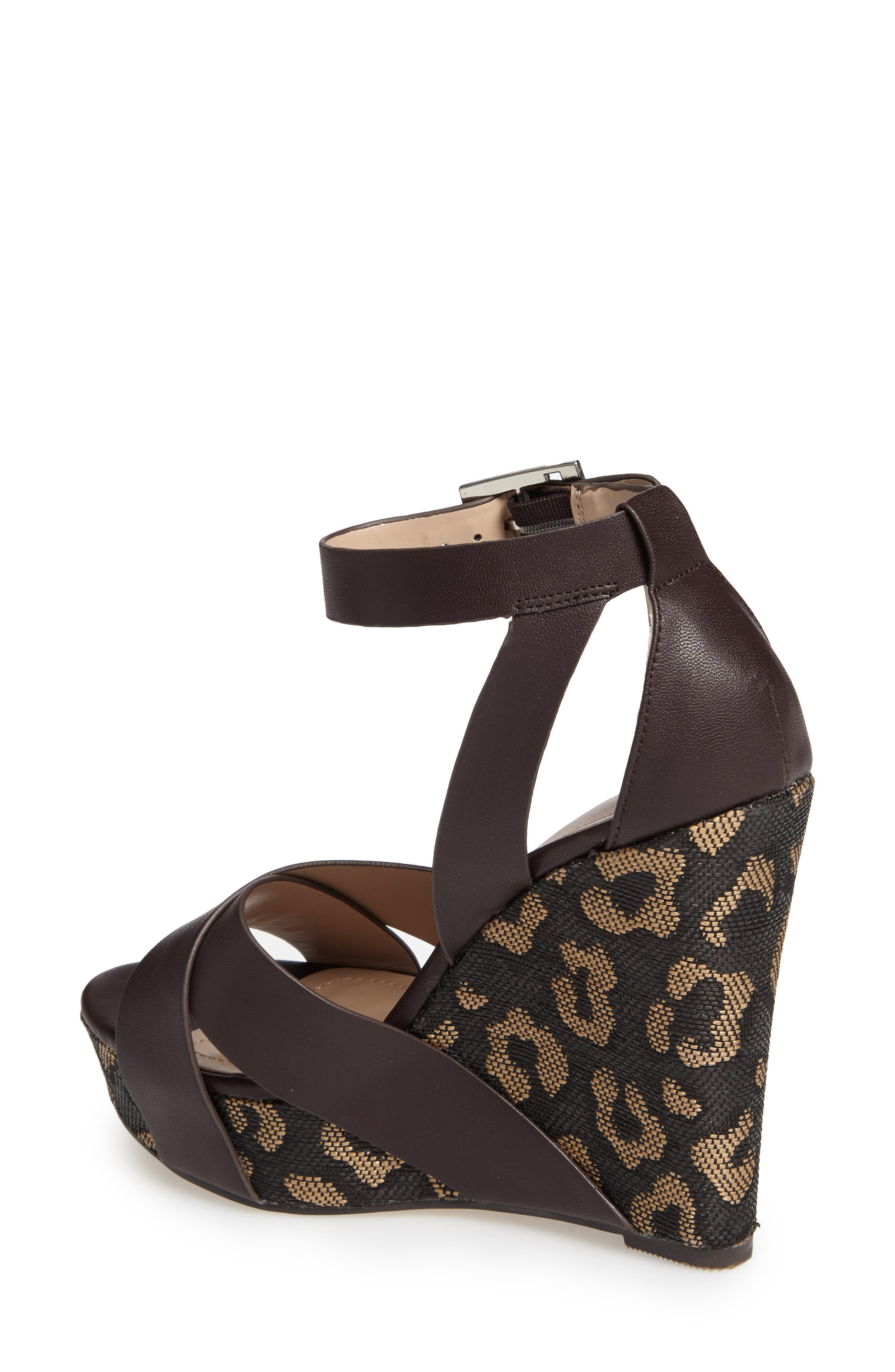 Amsterdam Platform Wedge Sandal,                             Alternate thumbnail 5, color,