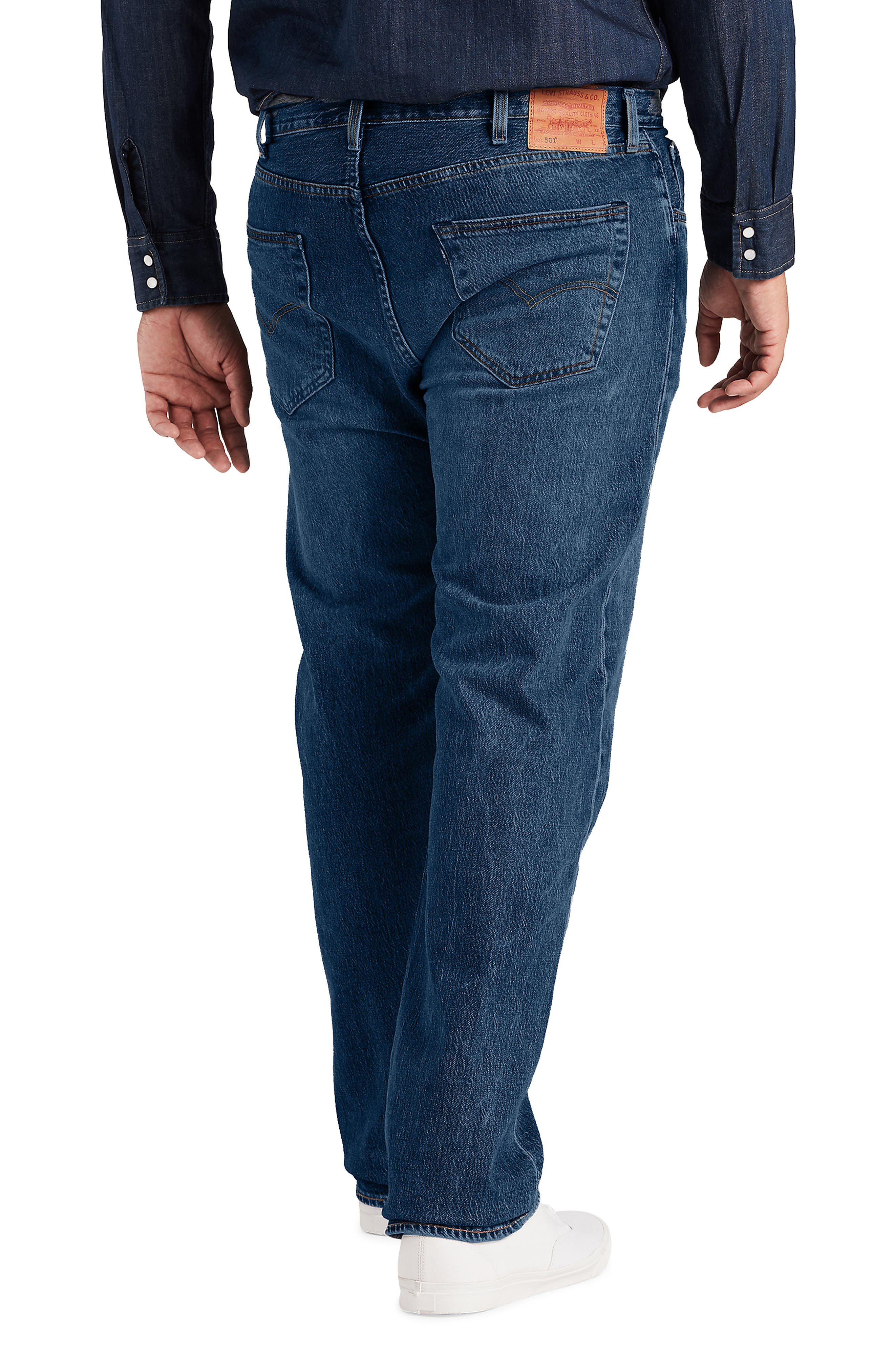LEVI'S<SUP>®</SUP>,                             501<sup>®</sup> Straight Leg Jeans,                             Alternate thumbnail 2, color,                             DAIRY WHIPPED