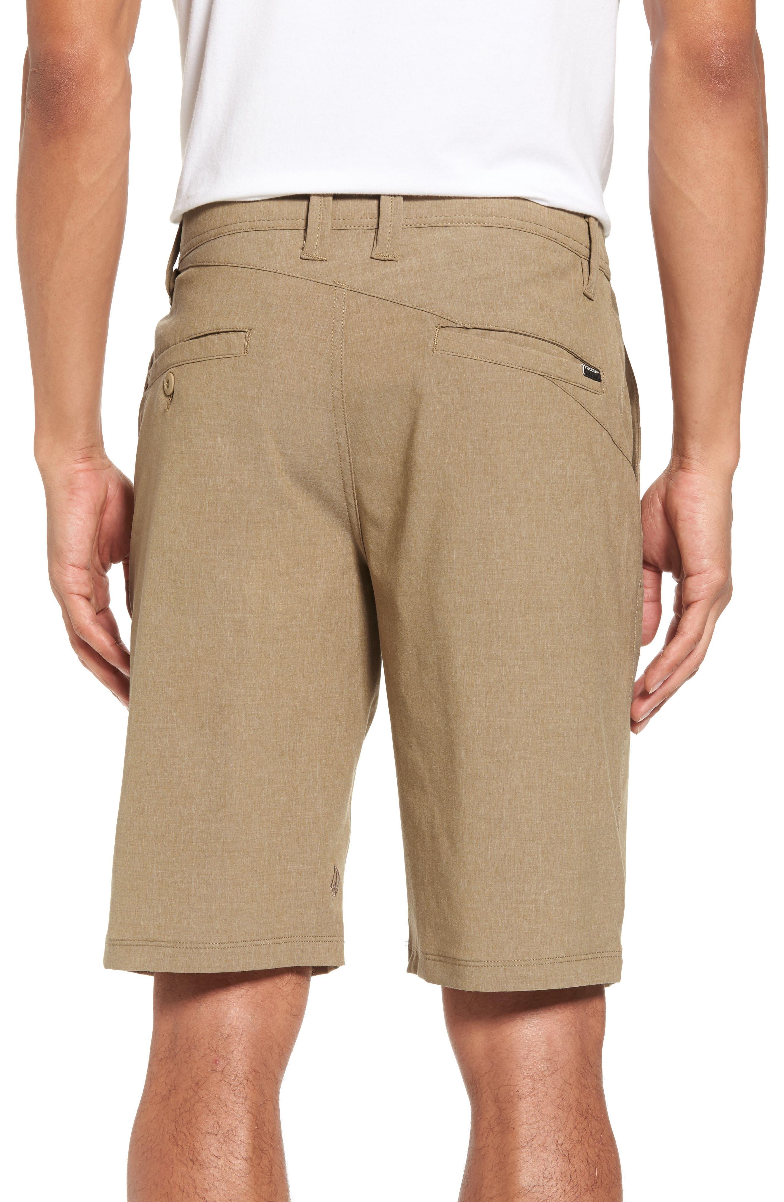Hybrid Shorts,                             Alternate thumbnail 2, color,                             BEIGE