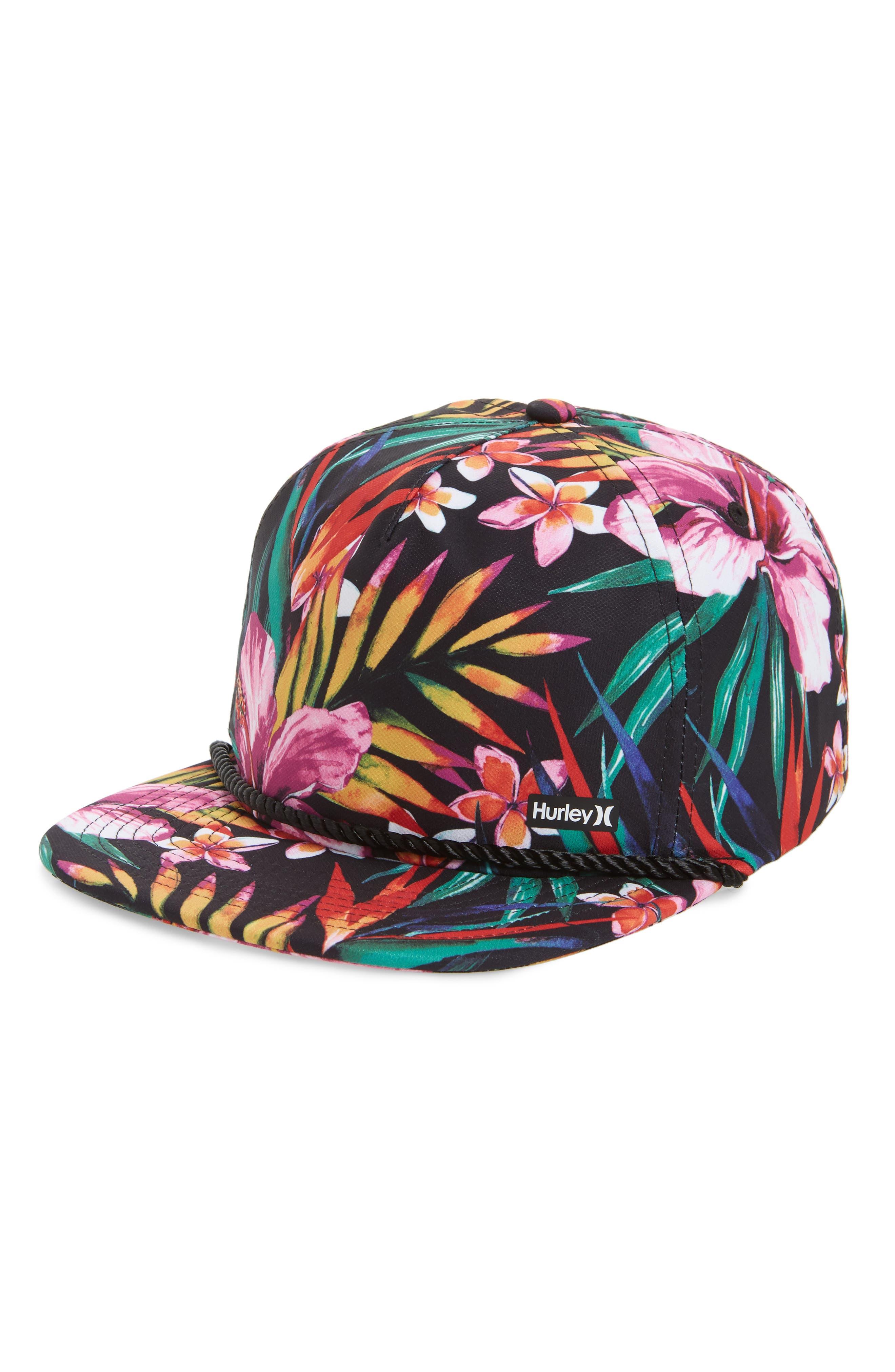 Dri-FIT Garden Print Hat,                             Main thumbnail 1, color,                             010