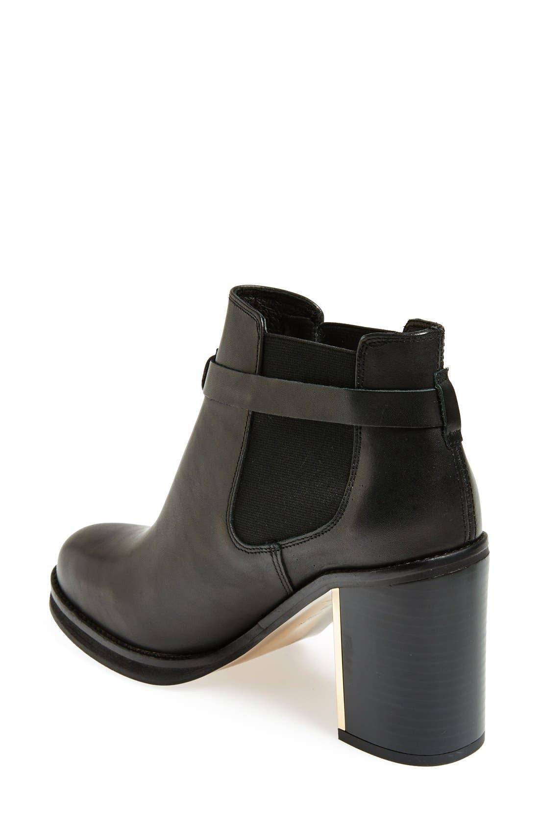 'Mine' Ankle Boot,                             Alternate thumbnail 2, color,                             001
