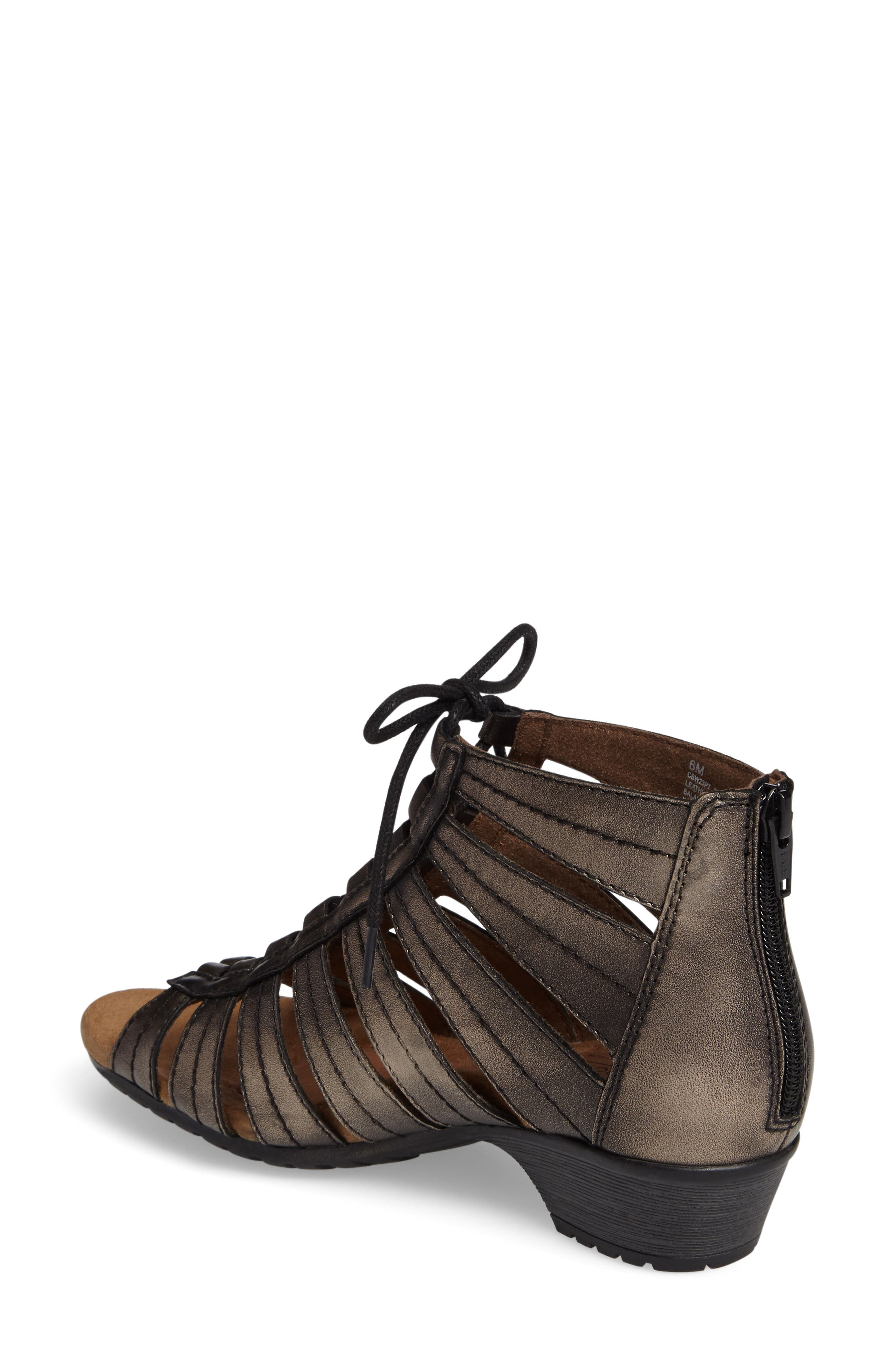 'Gabby' Lace-Up Sandal,                             Alternate thumbnail 12, color,