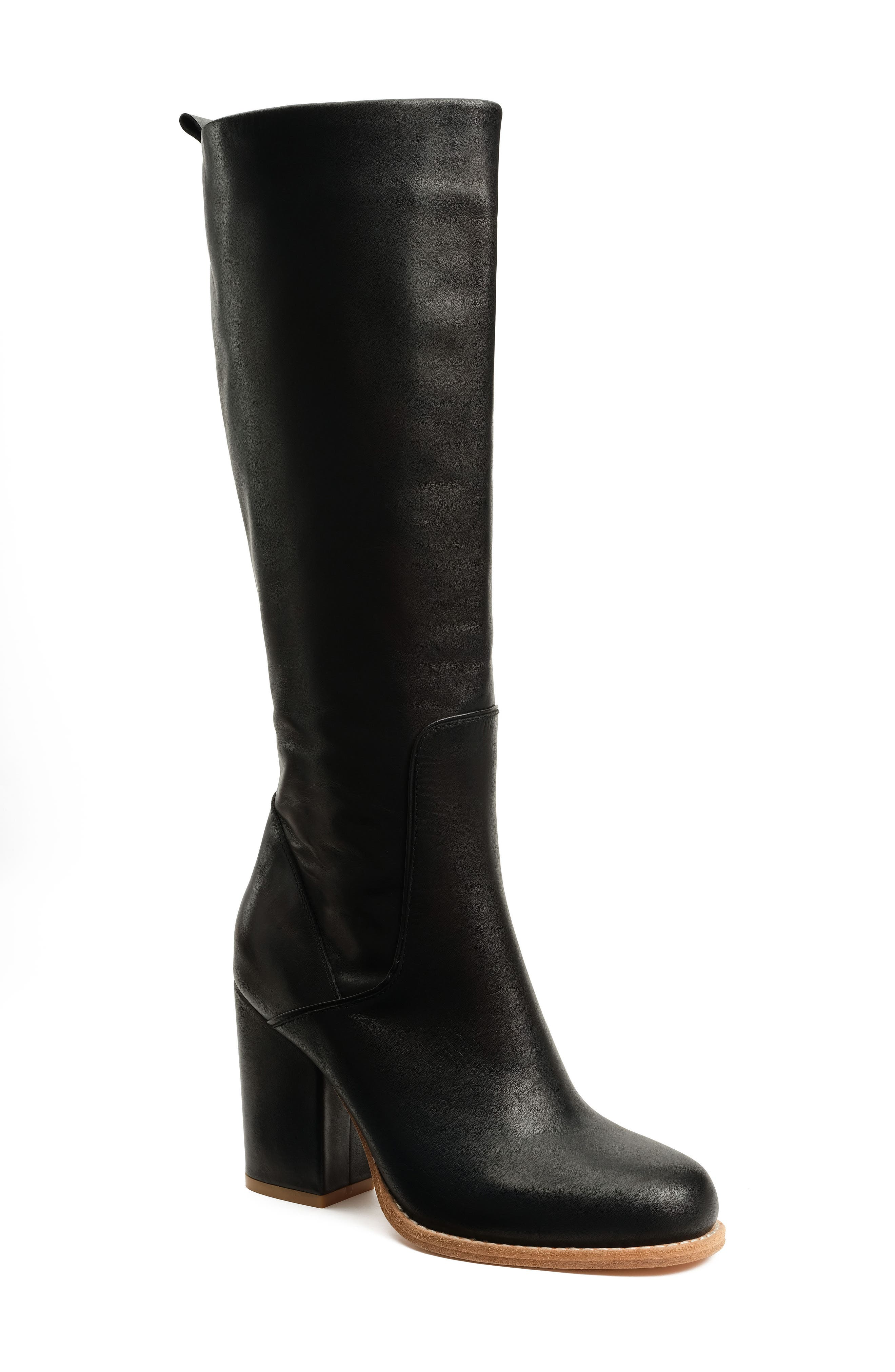 BB Knee High Boot, Main, color, 001
