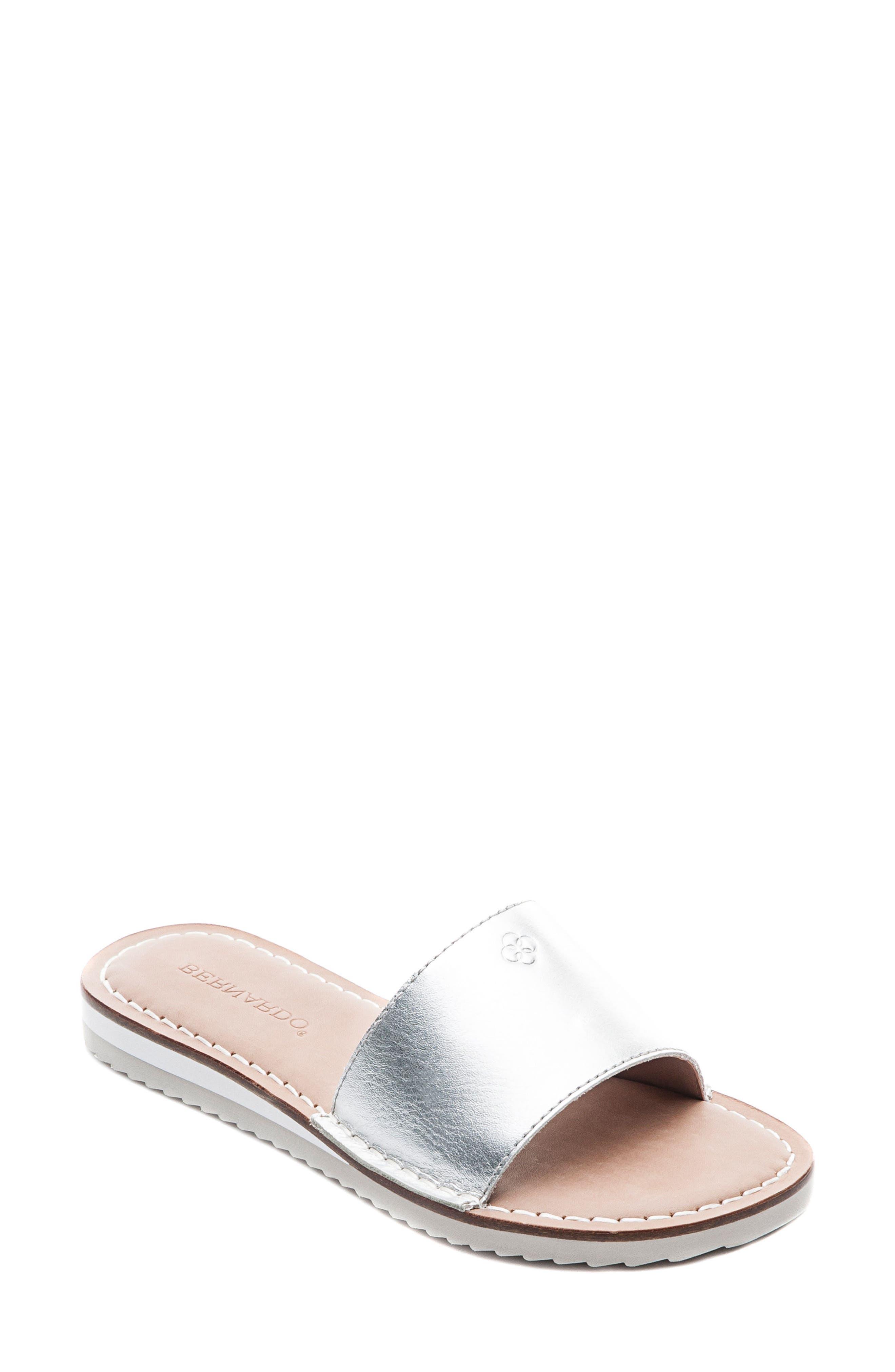 Bernardo Emily Slide Sandal,                         Main,                         color, 040