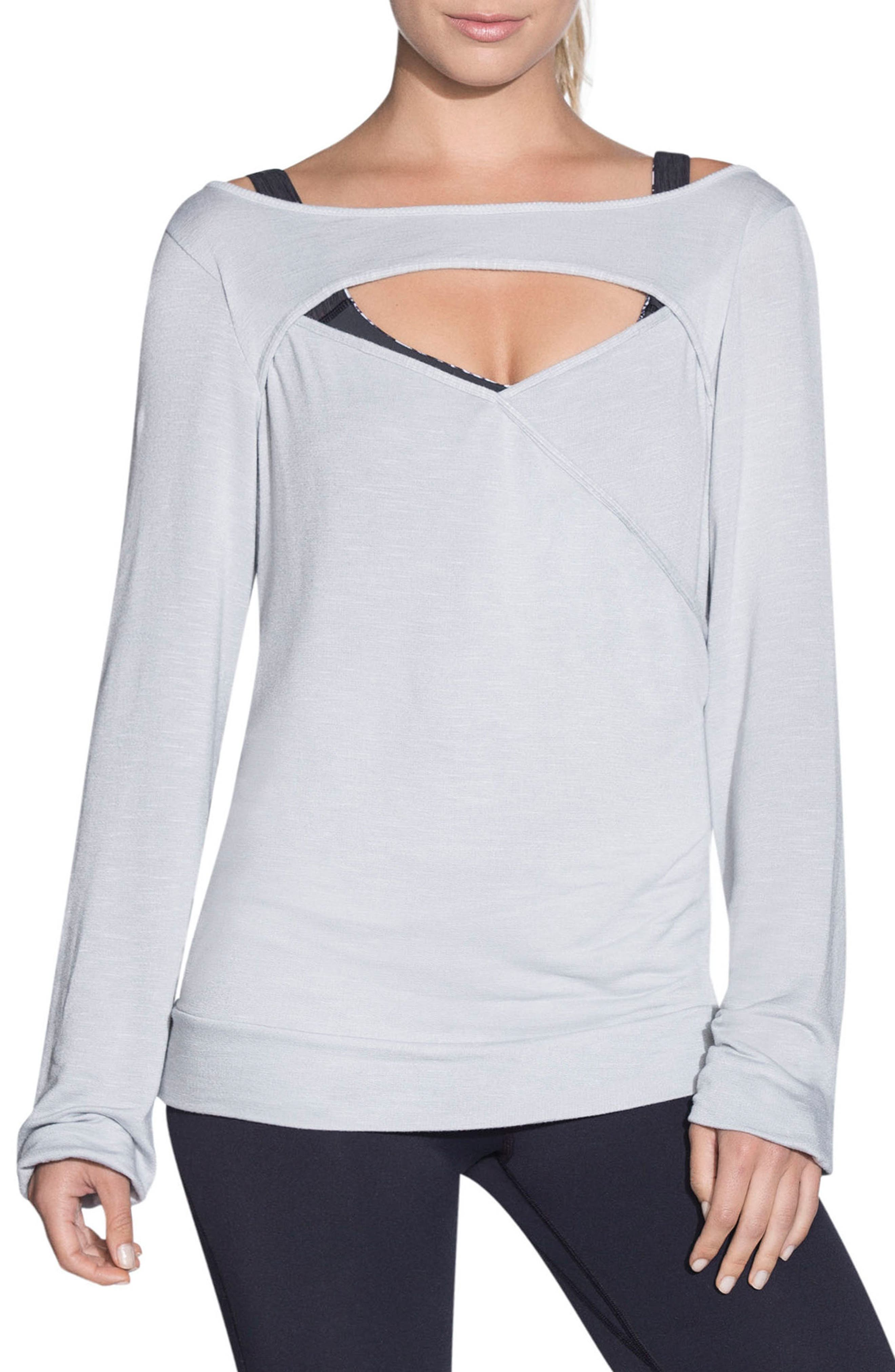 Crescent Long Sleeve Top,                         Main,                         color, 052
