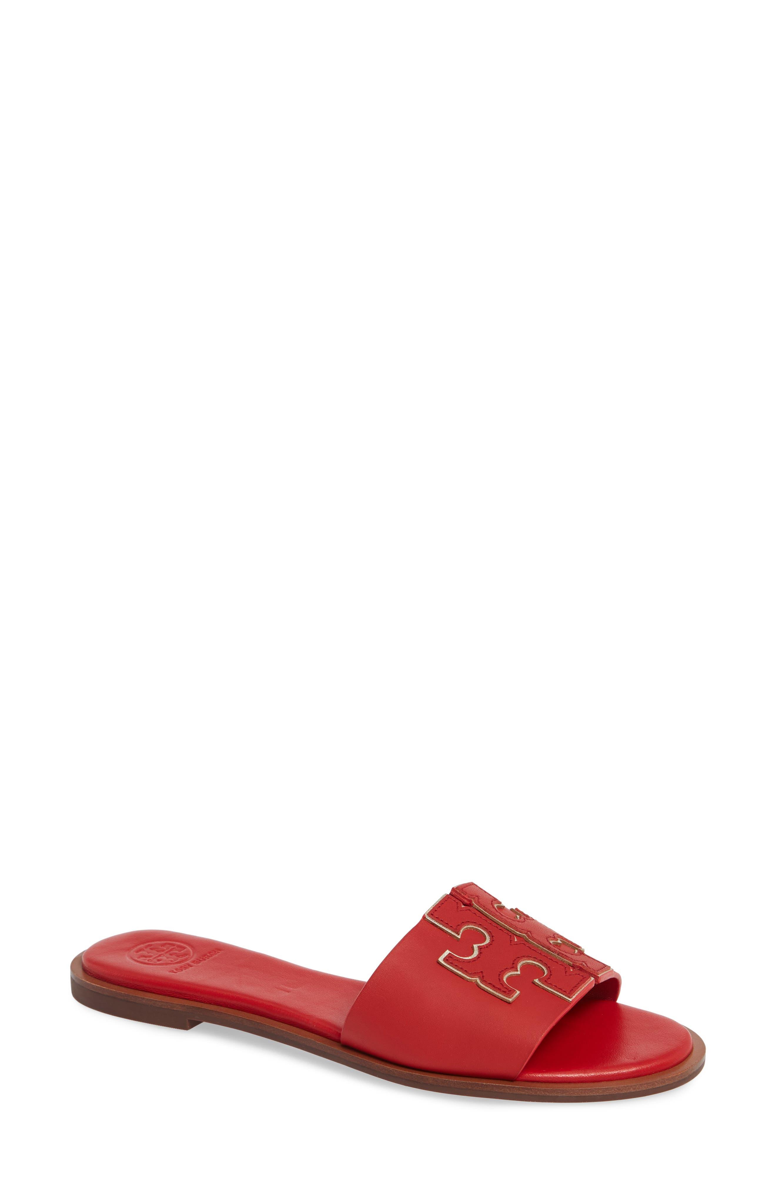 Tory Burch Ines Slide Sandal, Red