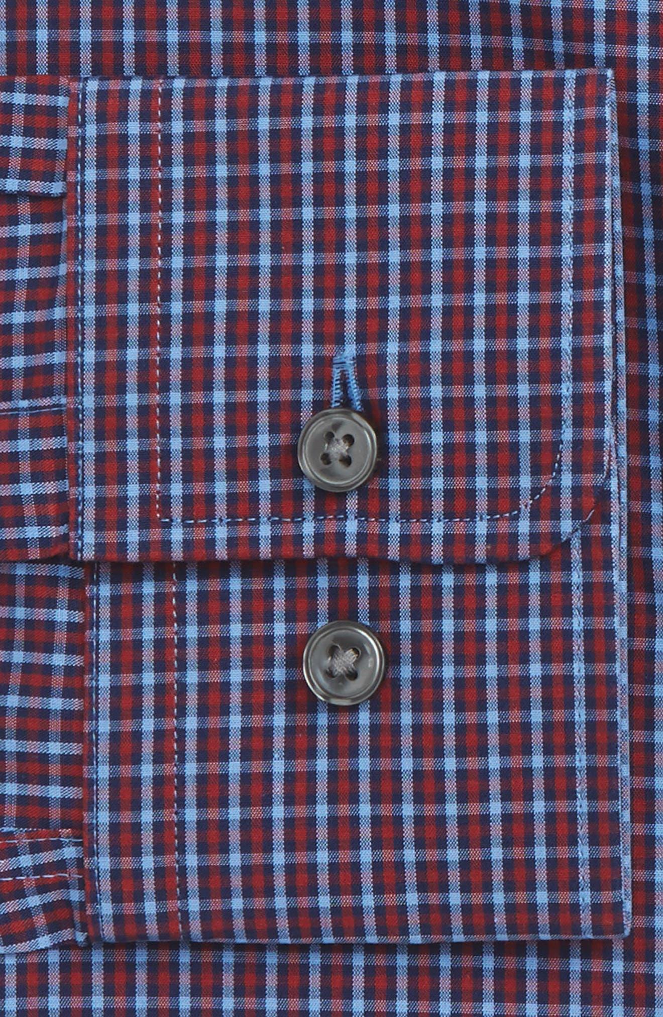 Marley Sharp Fit Check Dress Shirt,                             Alternate thumbnail 2, color,                             611