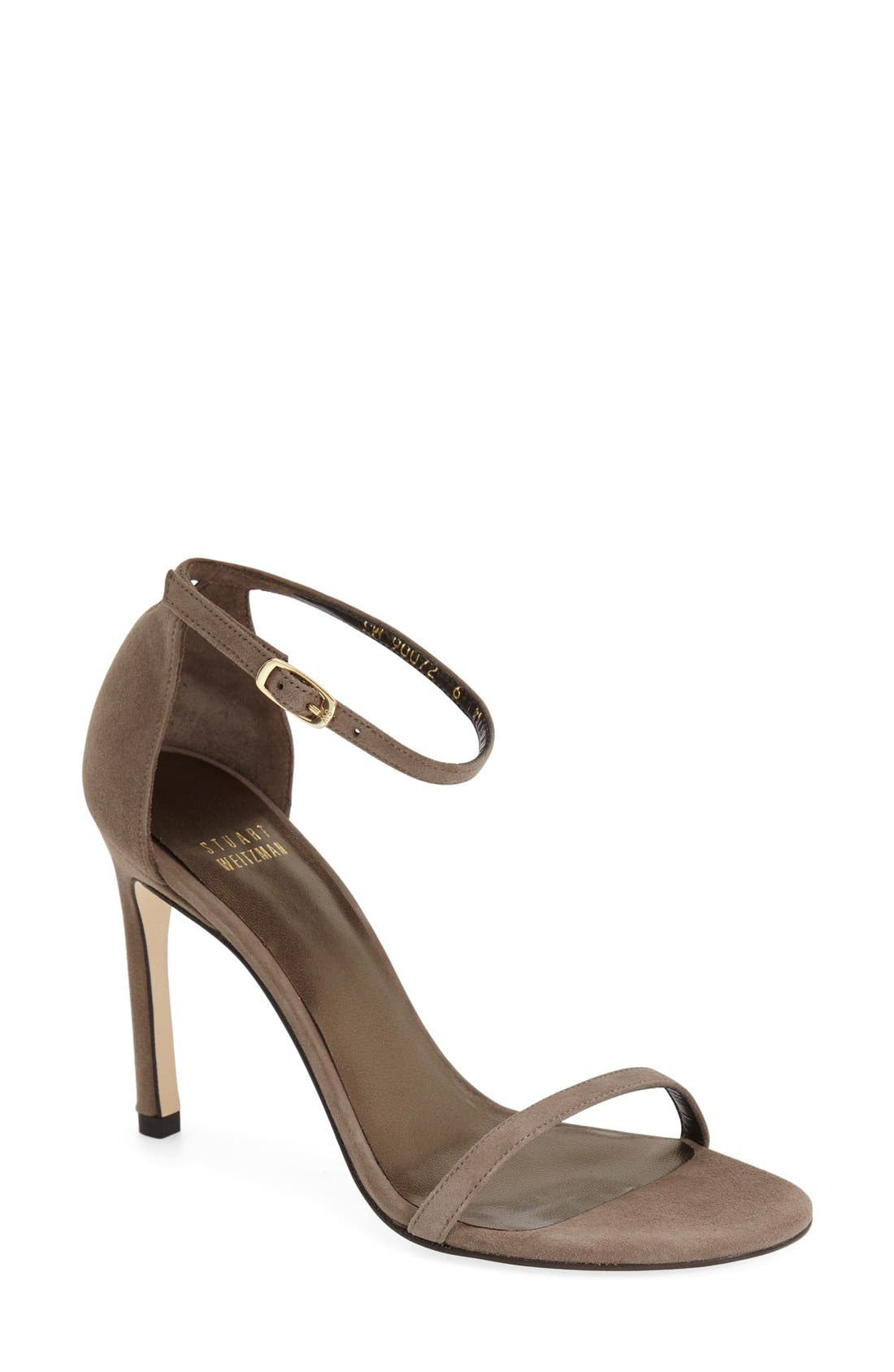 Nudistsong Ankle Strap Sandal,                             Main thumbnail 19, color,