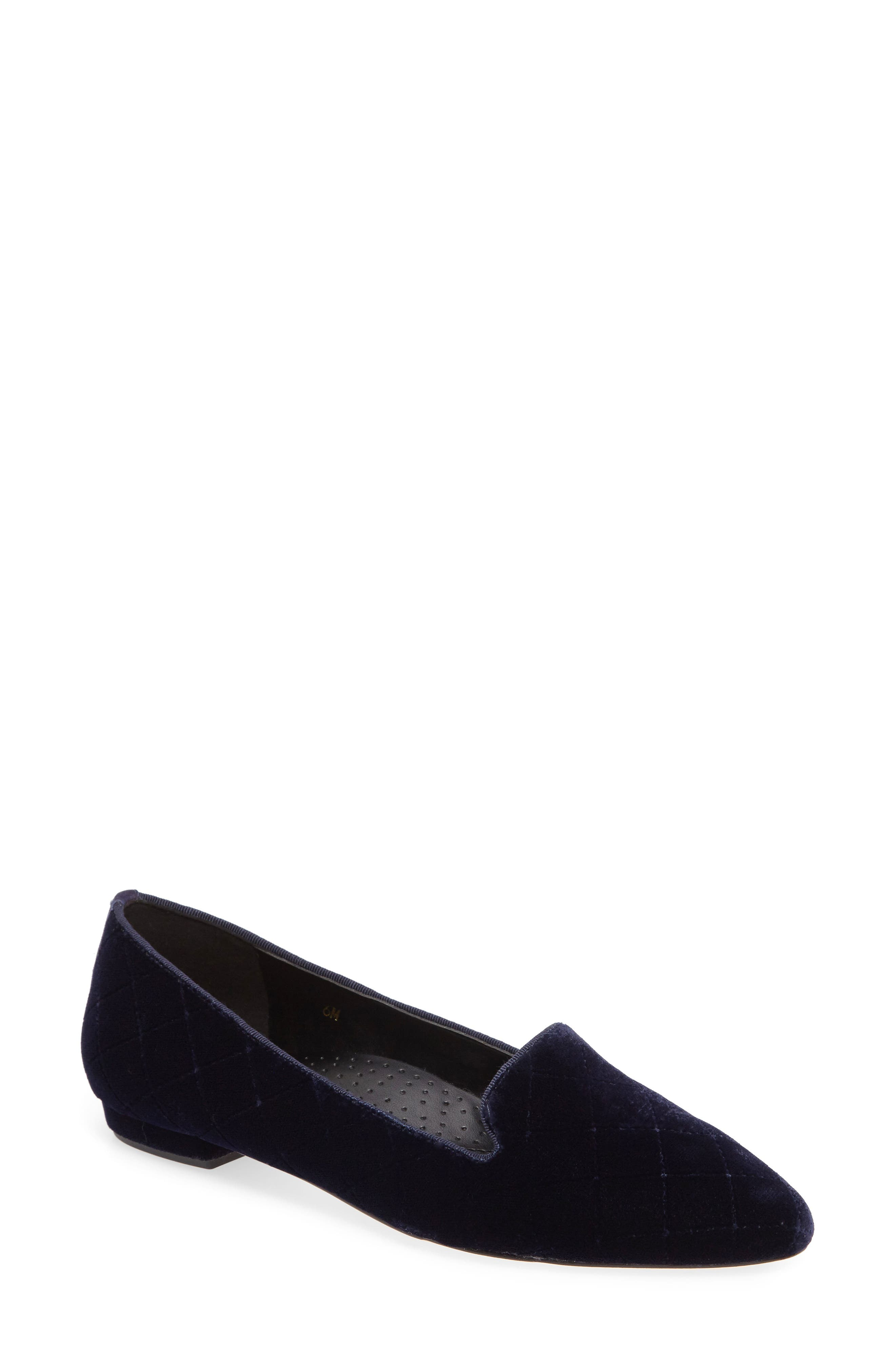 Gannie Diamond Pattern Loafer,                             Main thumbnail 2, color,