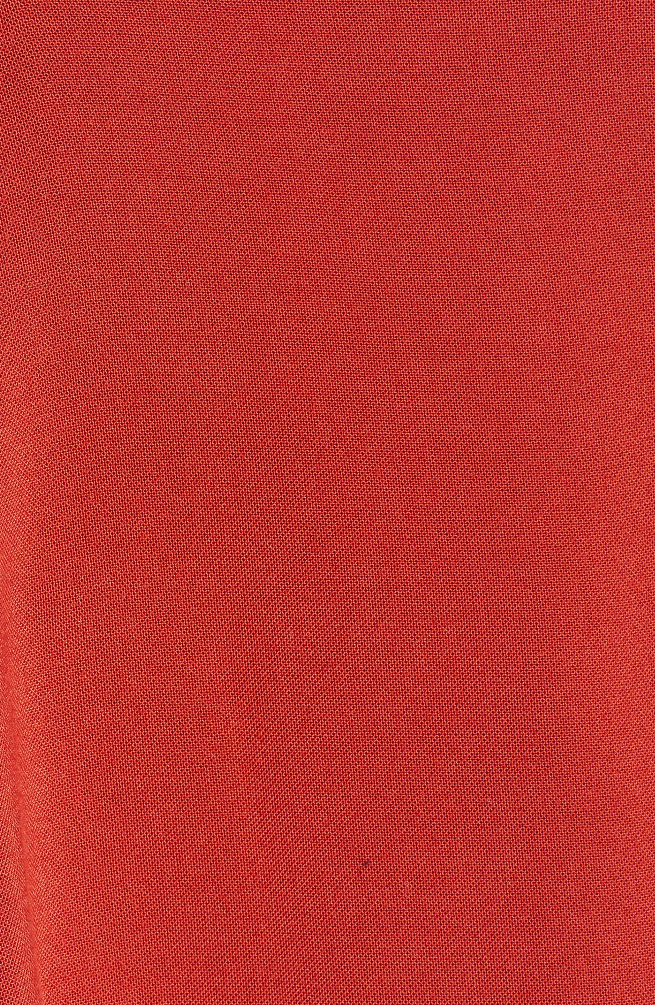 Button Front Skirt,                             Alternate thumbnail 5, color,                             649