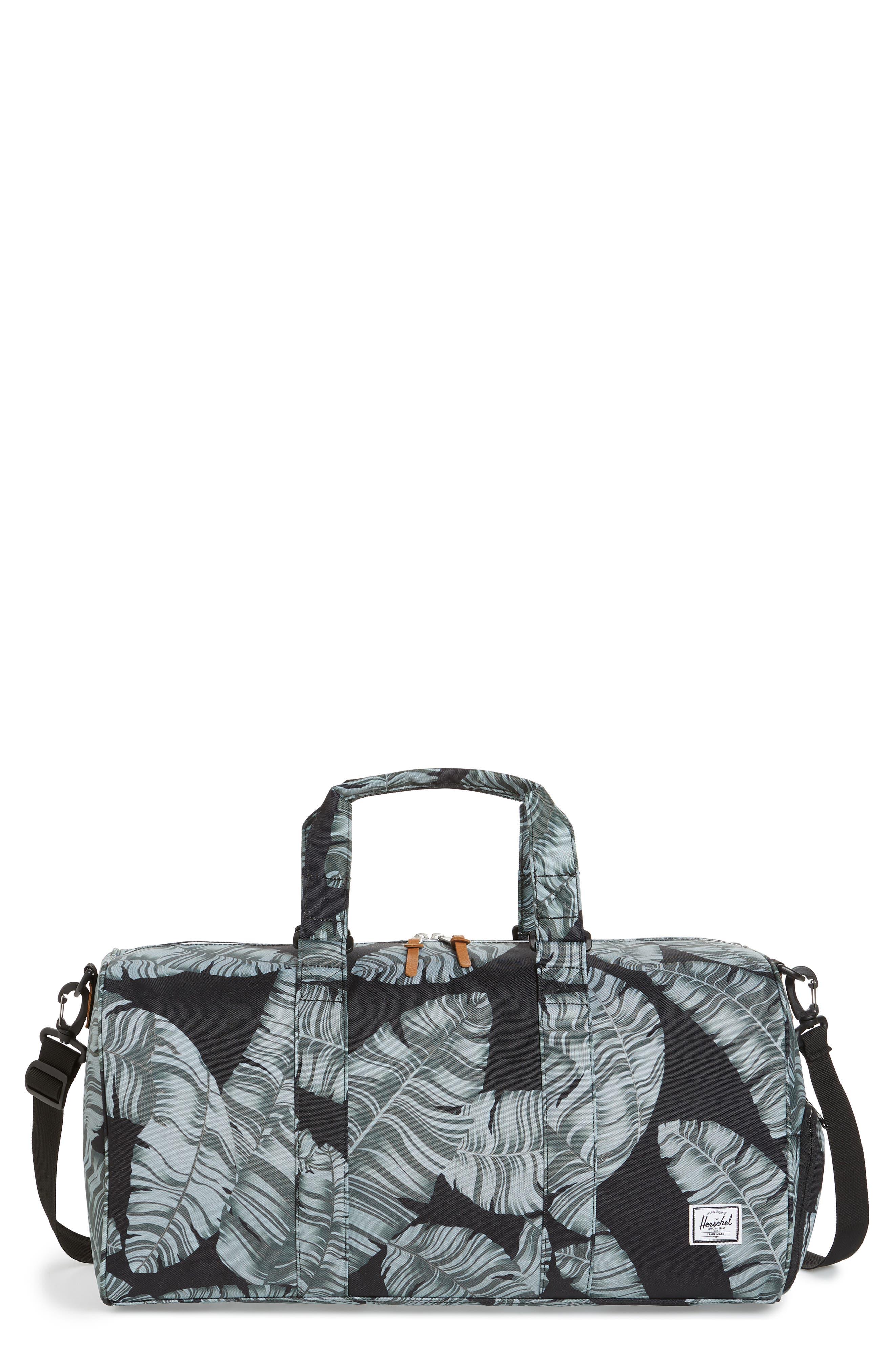 Novel Canvas Duffel Bag,                         Main,                         color, 003