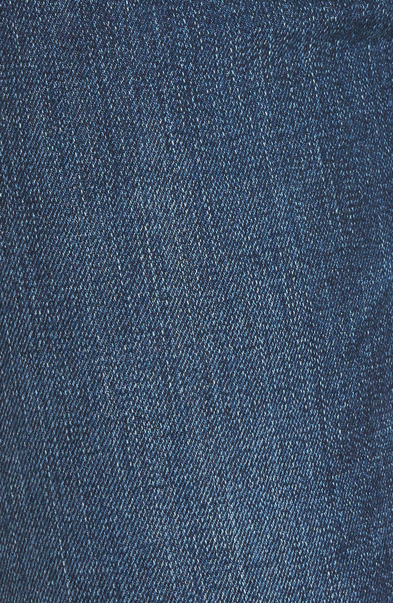 Barbara High Waist Super Skinny Jeans,                             Alternate thumbnail 6, color,                             400