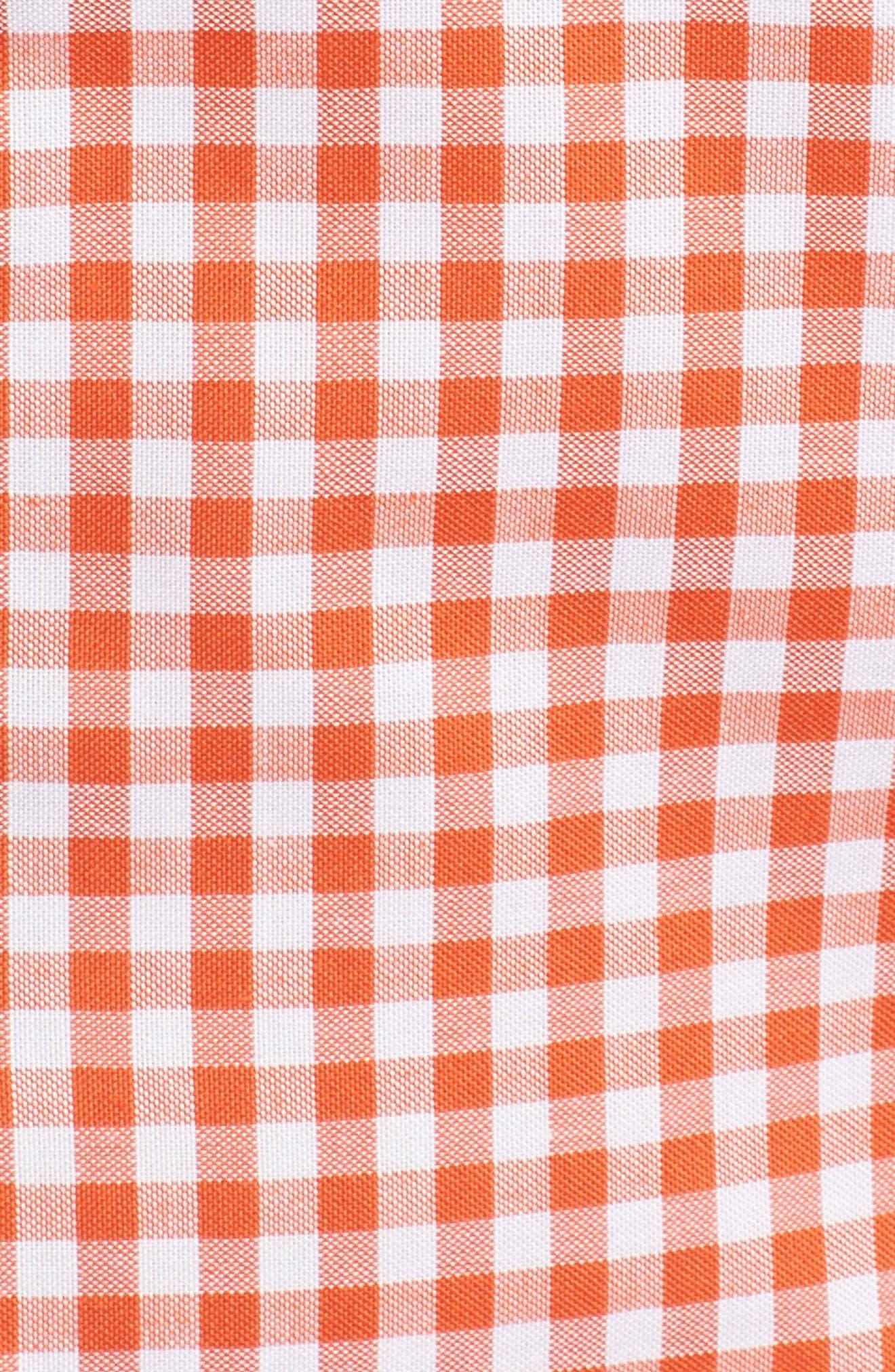 League Chicago Bears Regular Fit Shirt,                             Alternate thumbnail 5, color,                             COLLEGE ORANGE