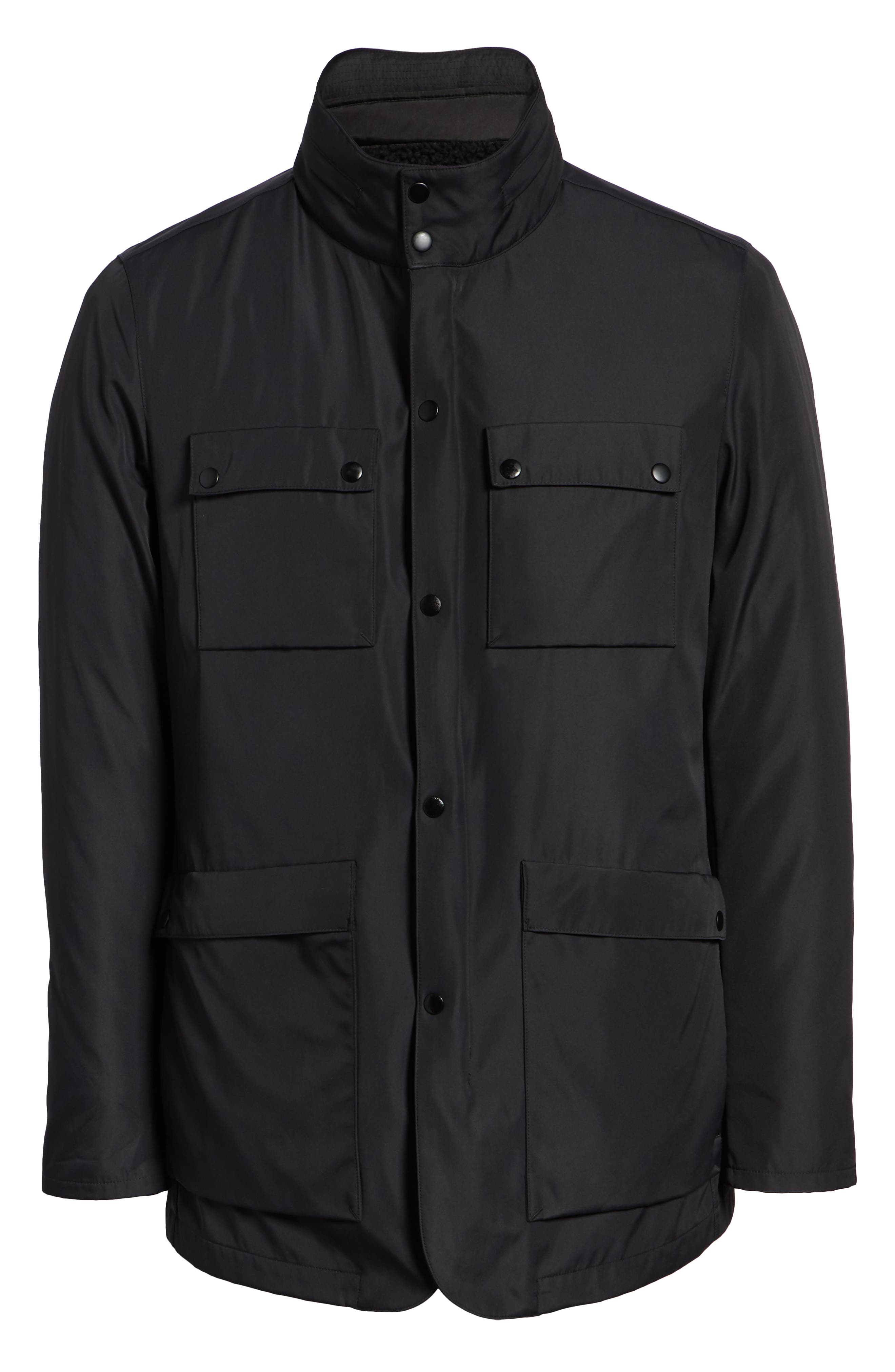 Oak 3-in-1 Jacket,                             Alternate thumbnail 7, color,                             BLACK