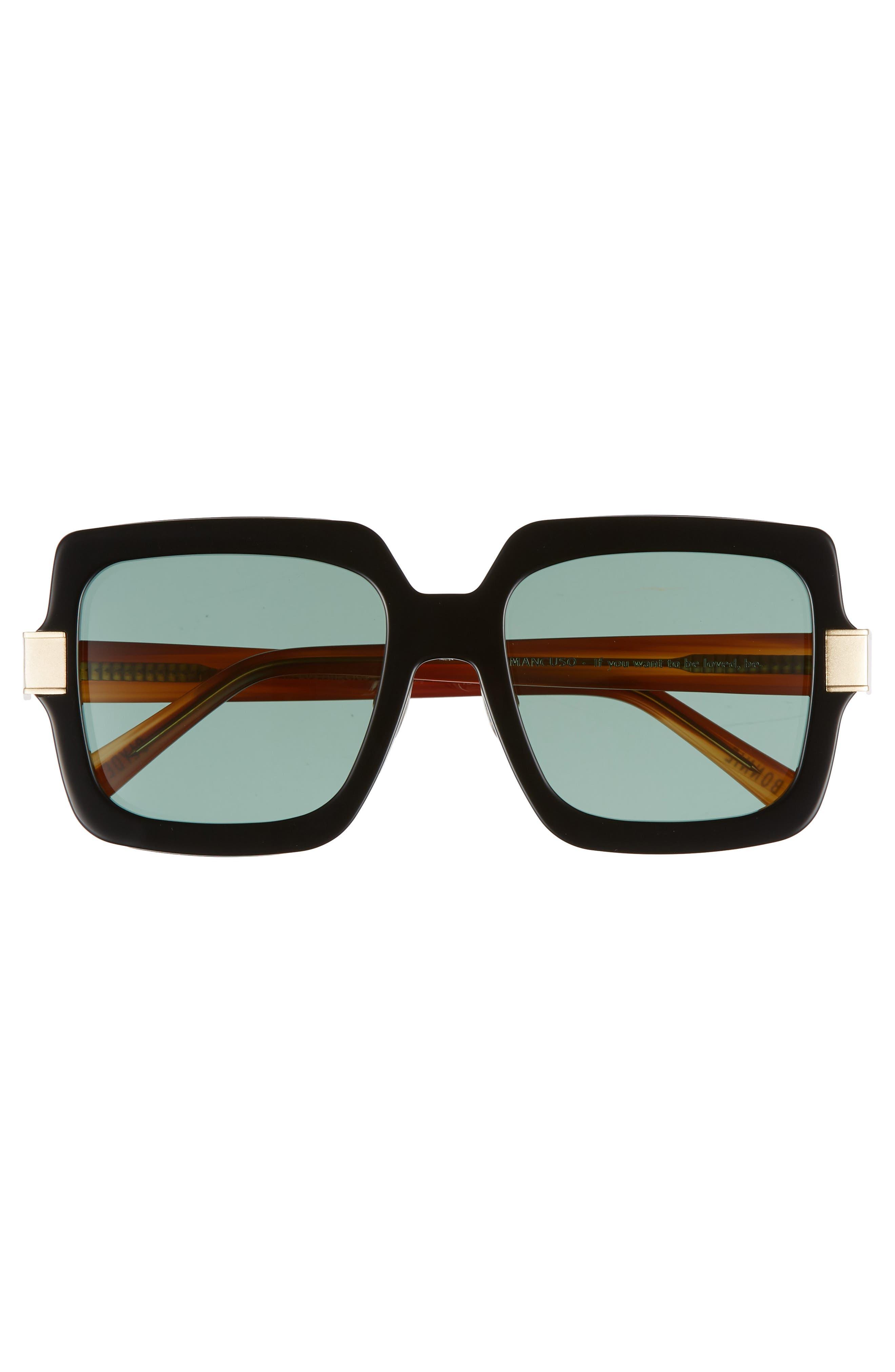 Mancuso 54mm Sunglasses,                             Alternate thumbnail 3, color,                             001