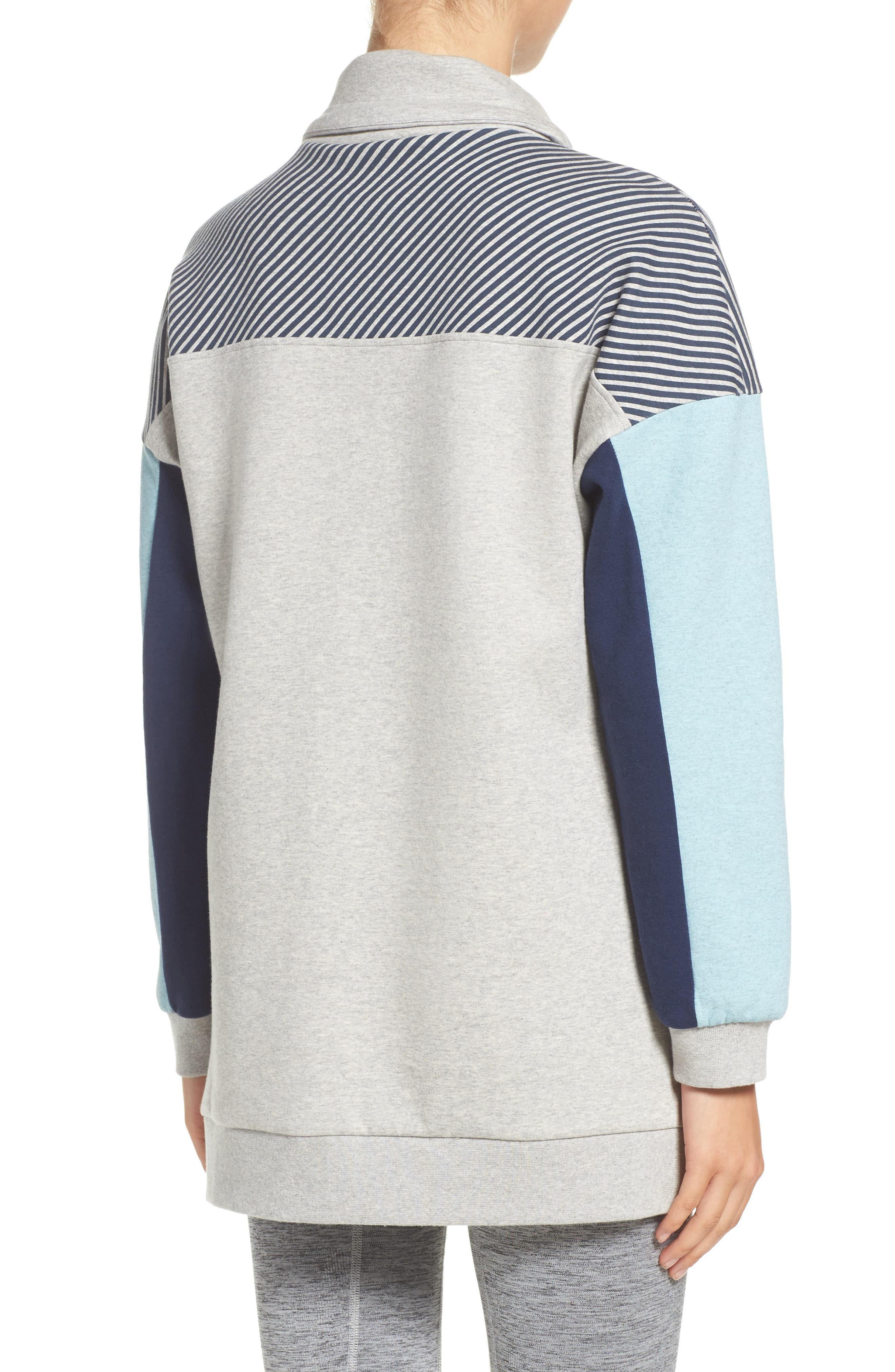 Noodie Funnel Neck Pullover,                             Alternate thumbnail 2, color,                             020