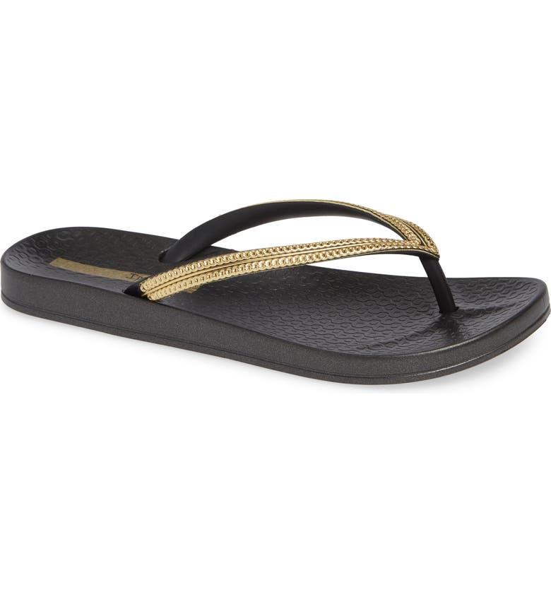 Ipanema Ana Metallic Flip Flop (Women)  d0156f0053