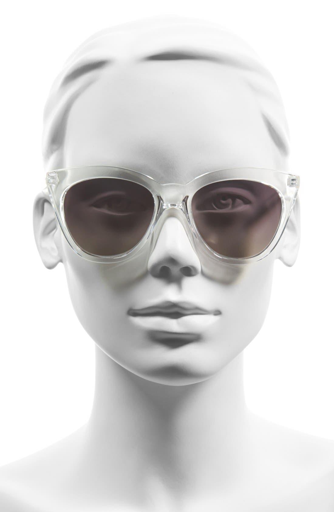 'Isabell' 50mm Cat Eye Sunglasses,                             Alternate thumbnail 2, color,                             111