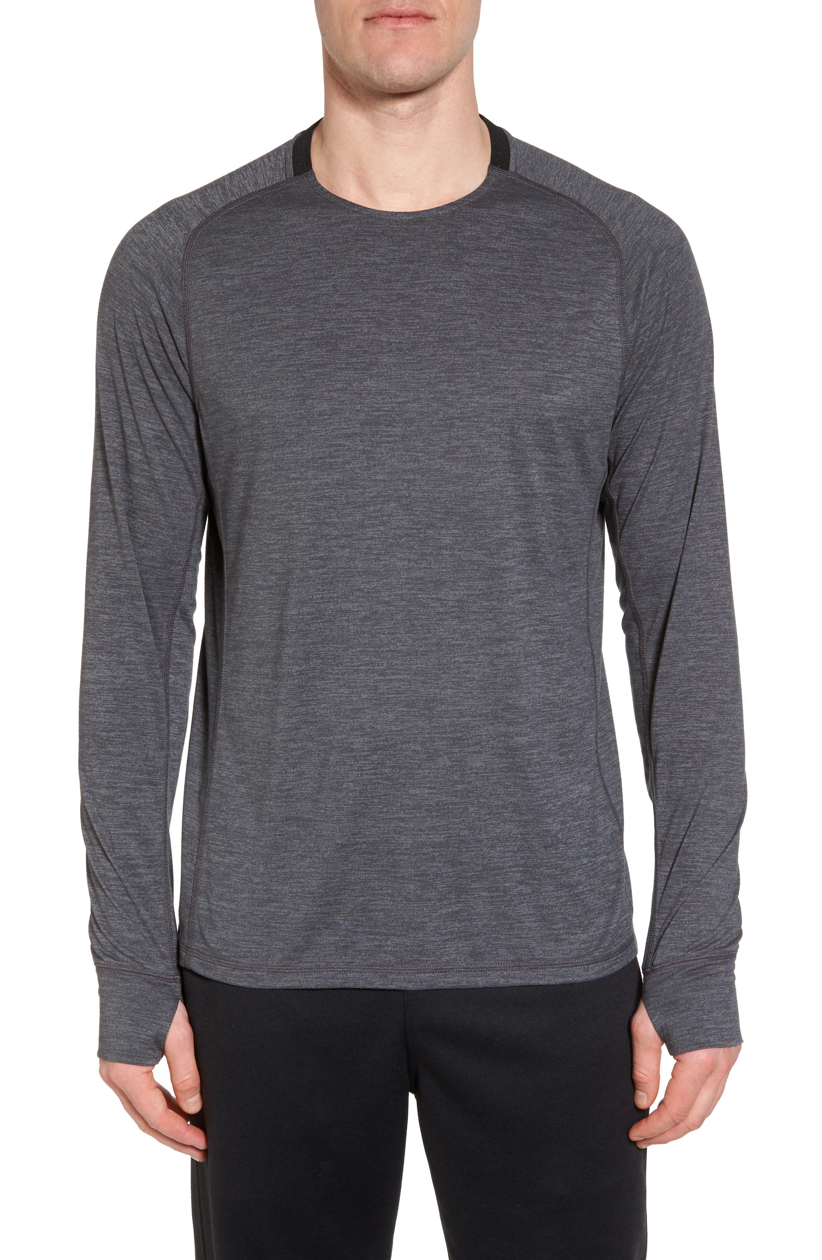 Larosite Athletic Fit T-Shirt,                             Main thumbnail 1, color,                             GREY EBONY MELANGE