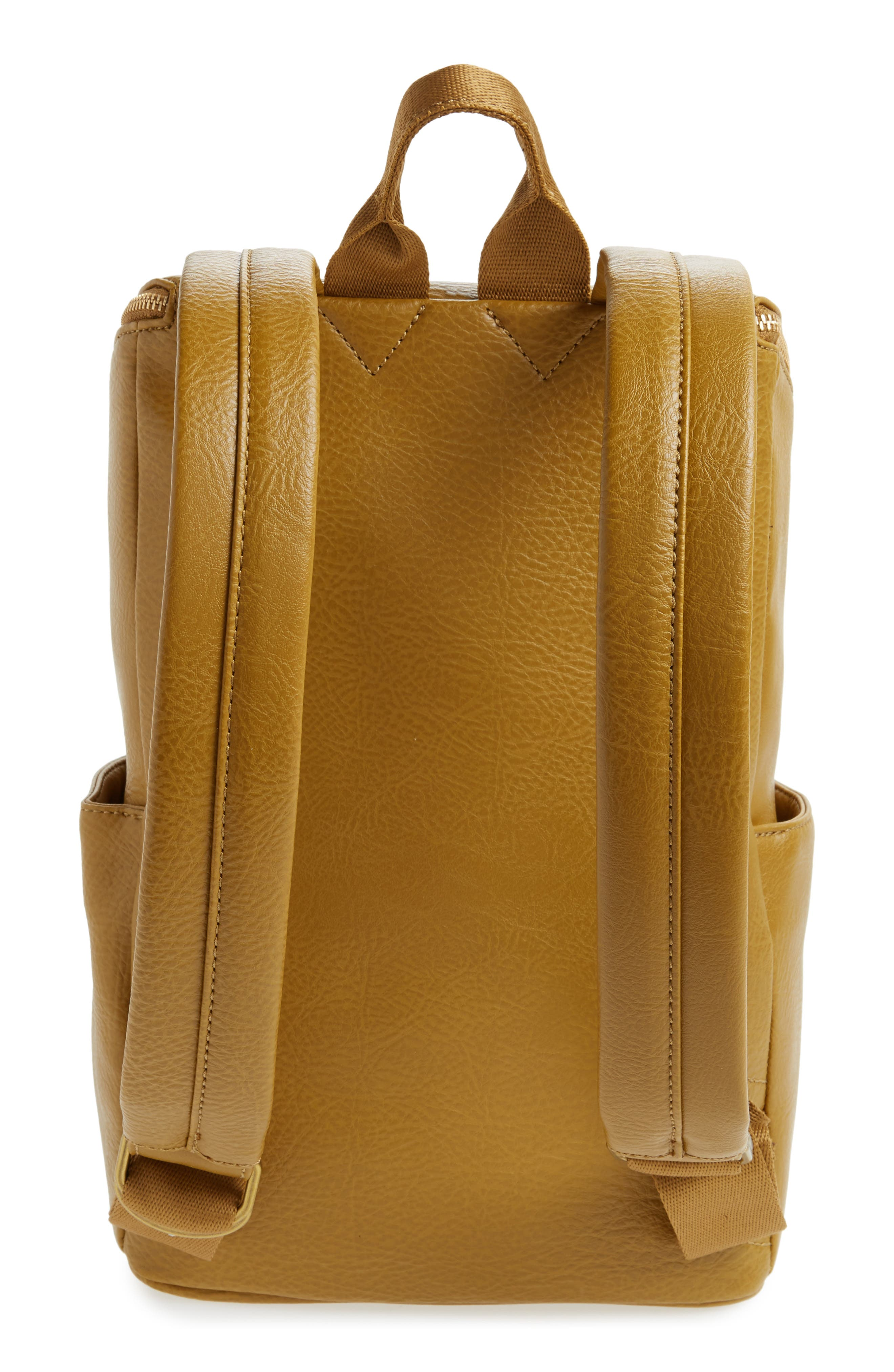 'Brave' Faux Leather Backpack,                             Alternate thumbnail 38, color,