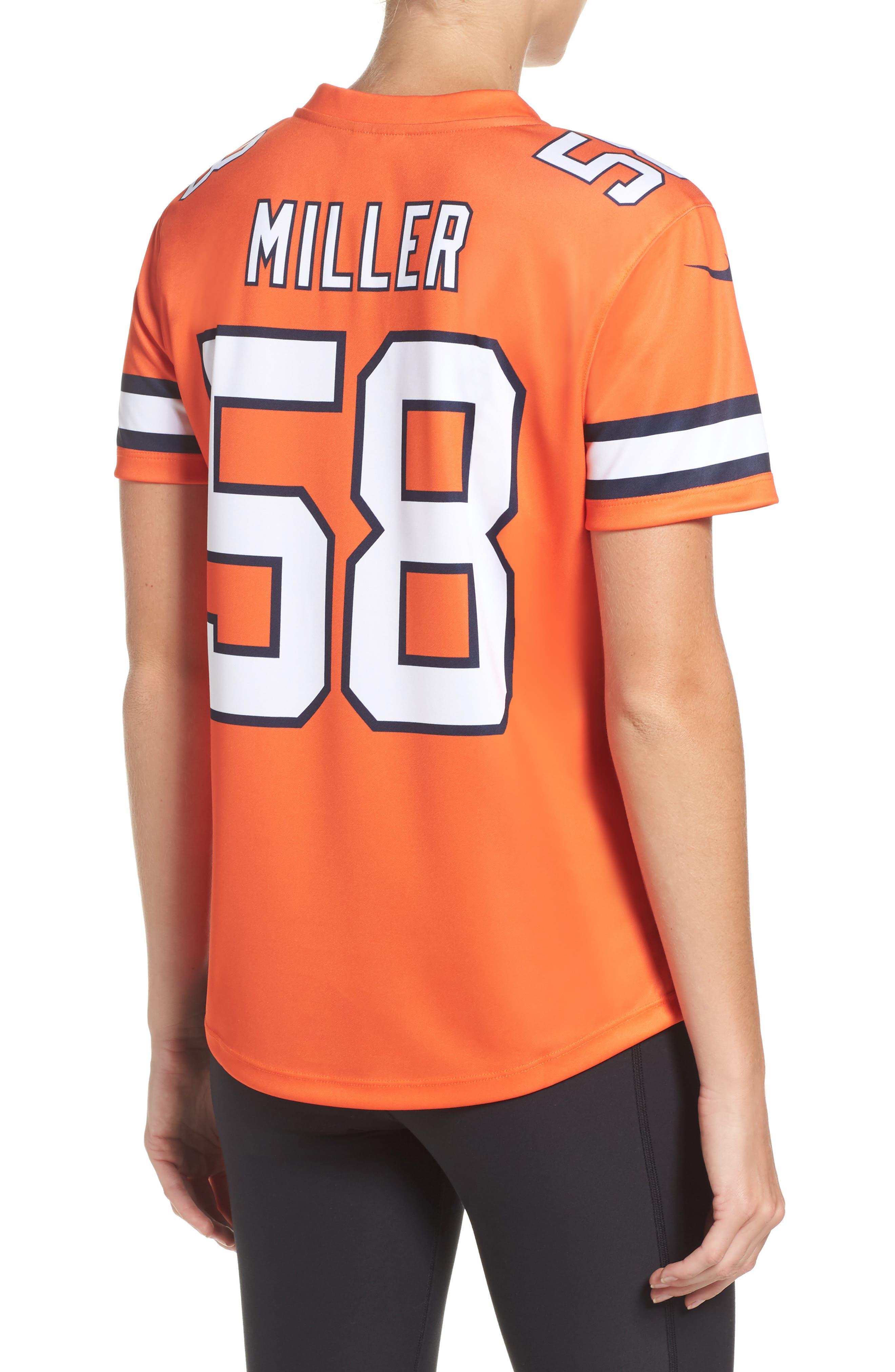 NFL Miller Denver Broncos Jersey,                             Alternate thumbnail 2, color,                             828