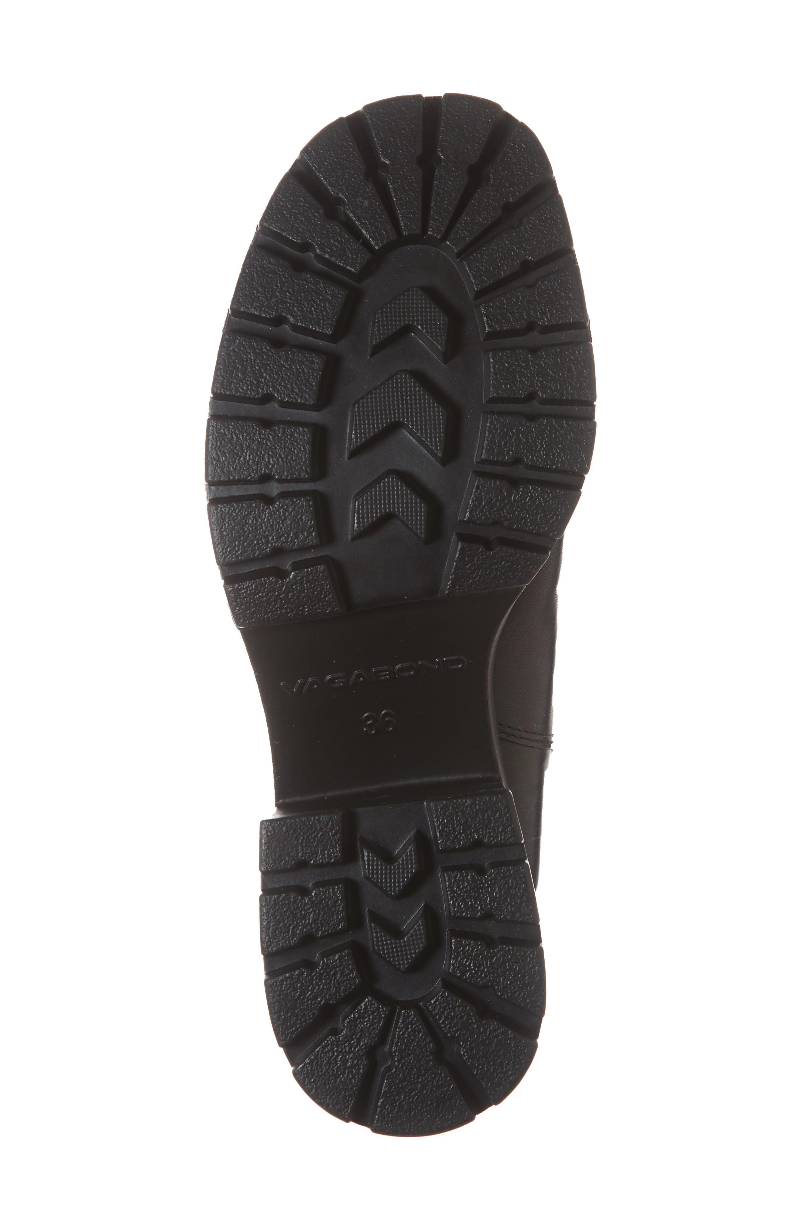VAGABOND,                             Shoemakers Dioon Platform Chelsea Bootie,                             Alternate thumbnail 6, color,                             BLACK LEATHER