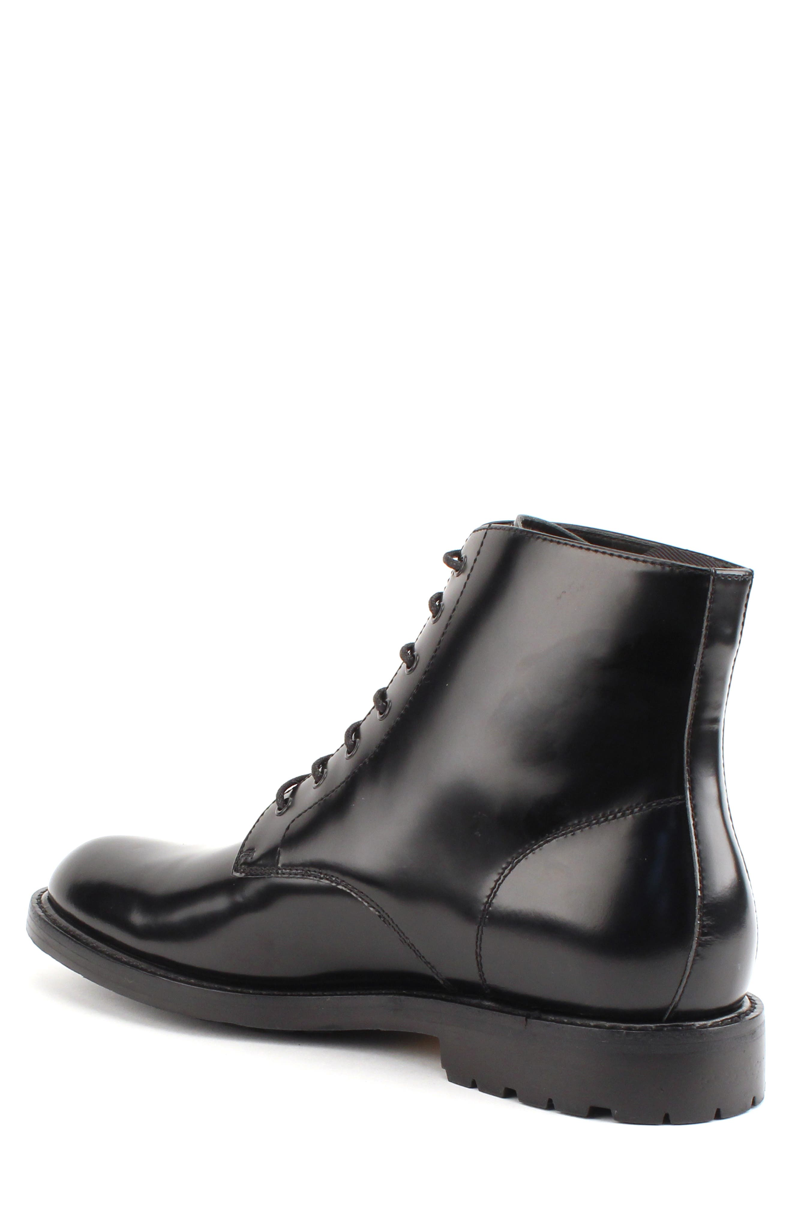 Raleigh Combat Boot,                             Alternate thumbnail 2, color,                             BLACK