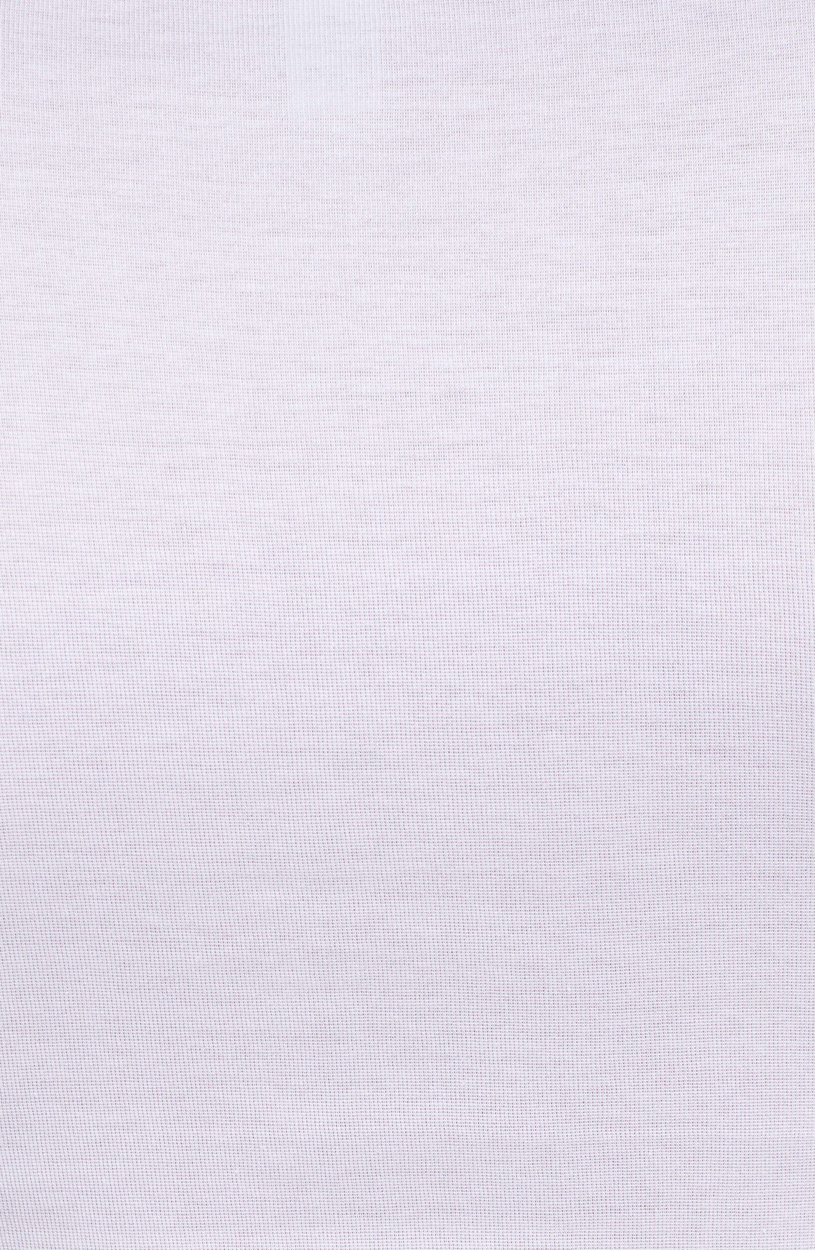 Cotton Pure V-Neck T-Shirt,                             Alternate thumbnail 5, color,                             100