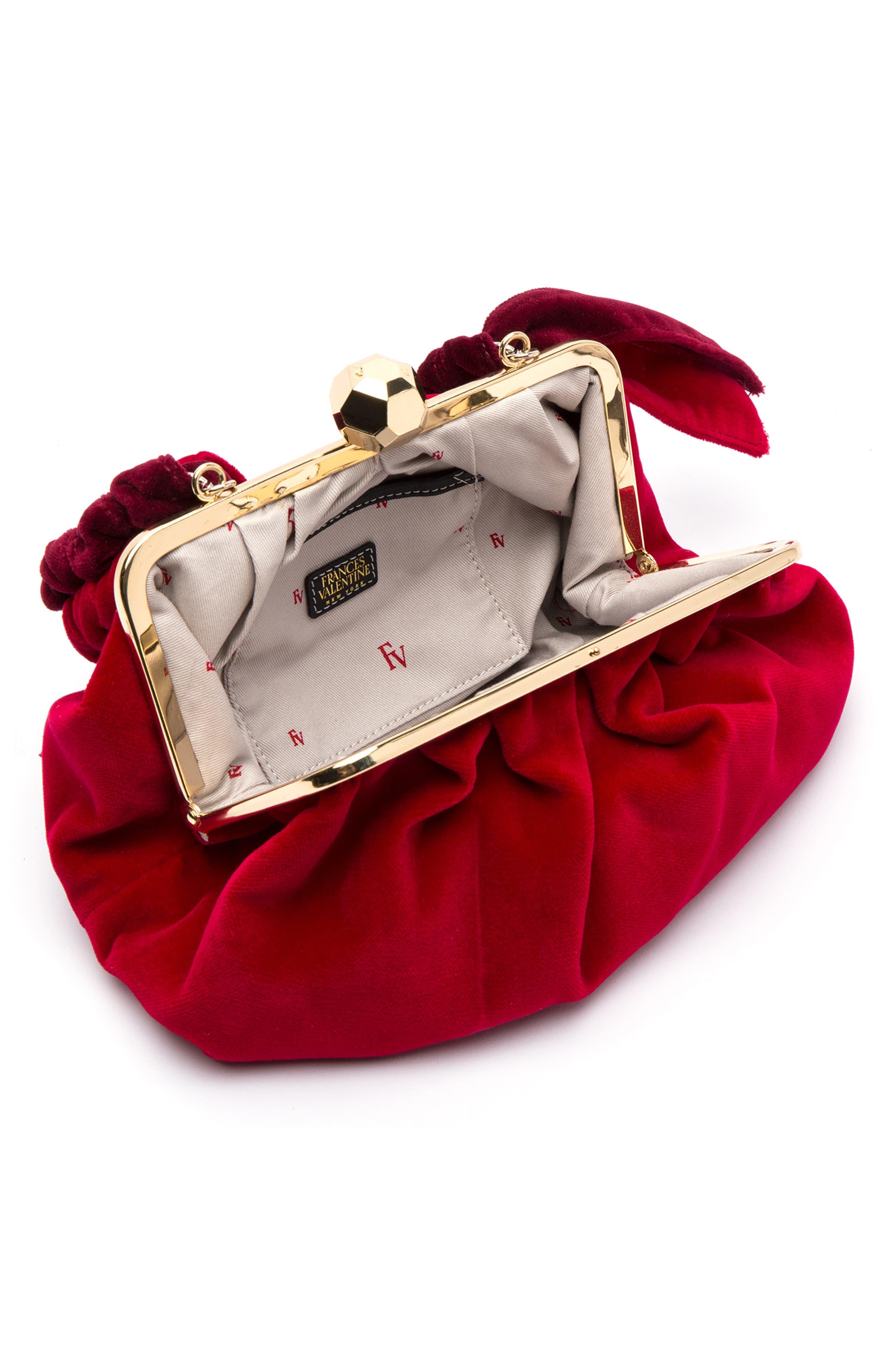 Zelda Velvet Shoulder Bag,                             Alternate thumbnail 2, color,                             643