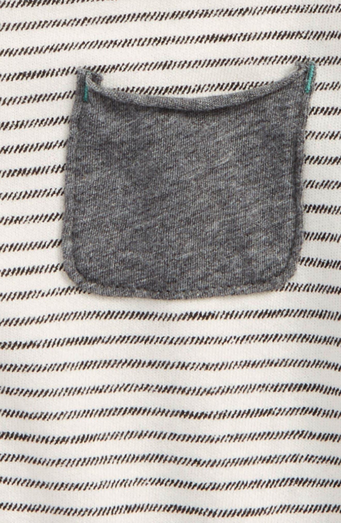Stripe French Terry Sweatshirt,                             Alternate thumbnail 2, color,                             900
