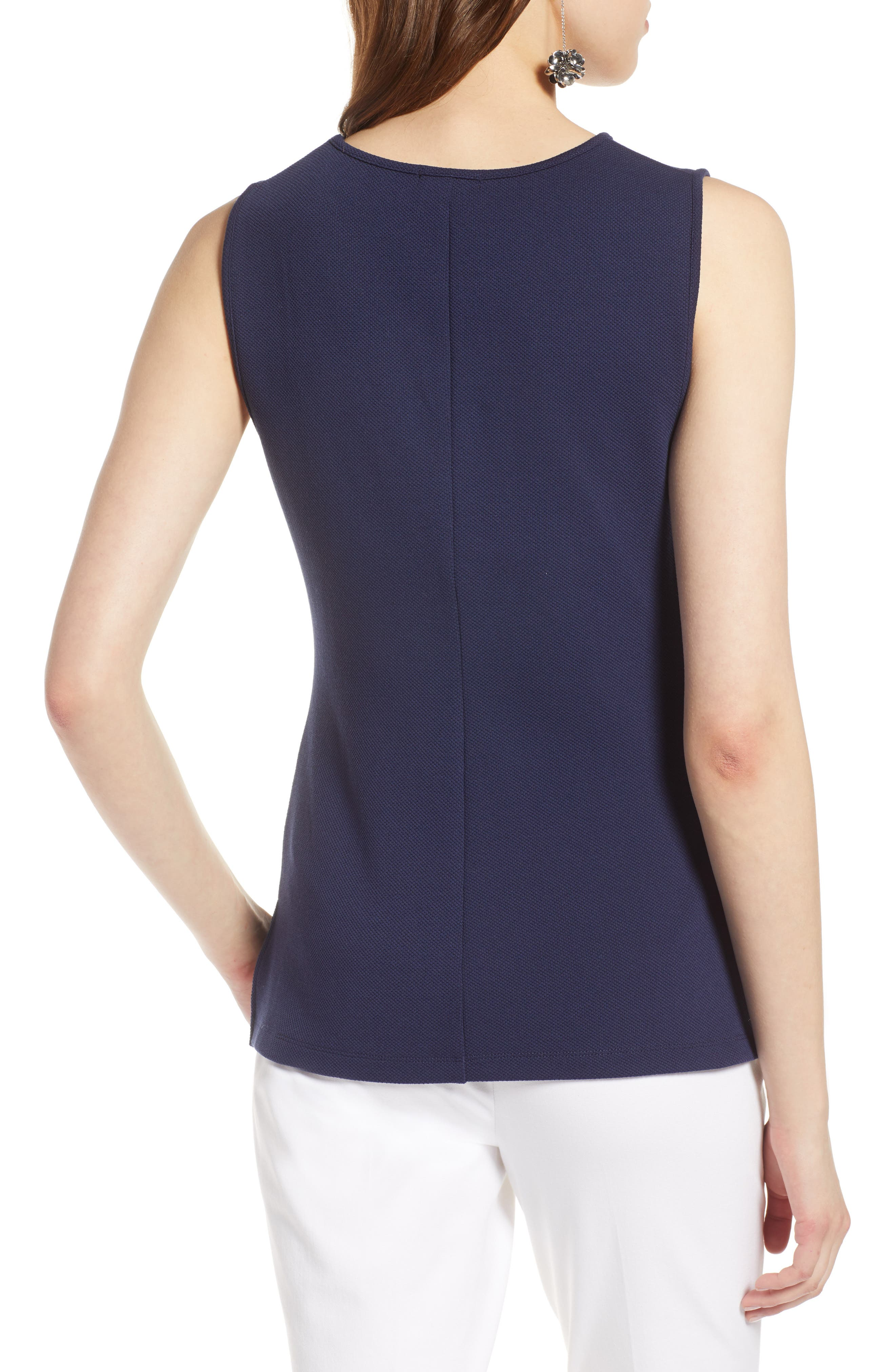 Ruched Tank Top,                             Alternate thumbnail 6, color,