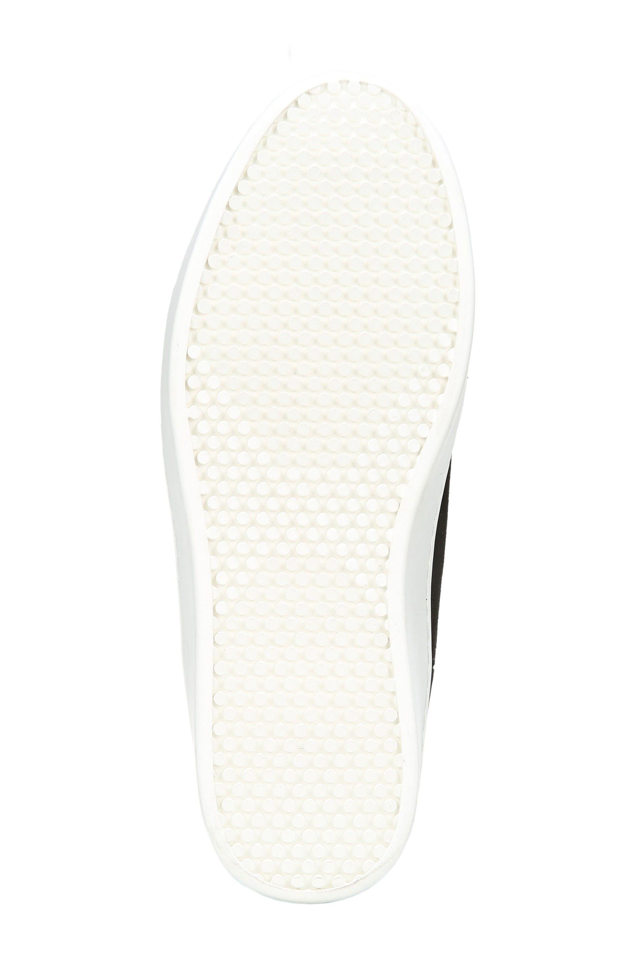 Elona Genuine Shearling Lined Sneaker Boot,                             Alternate thumbnail 6, color,                             001
