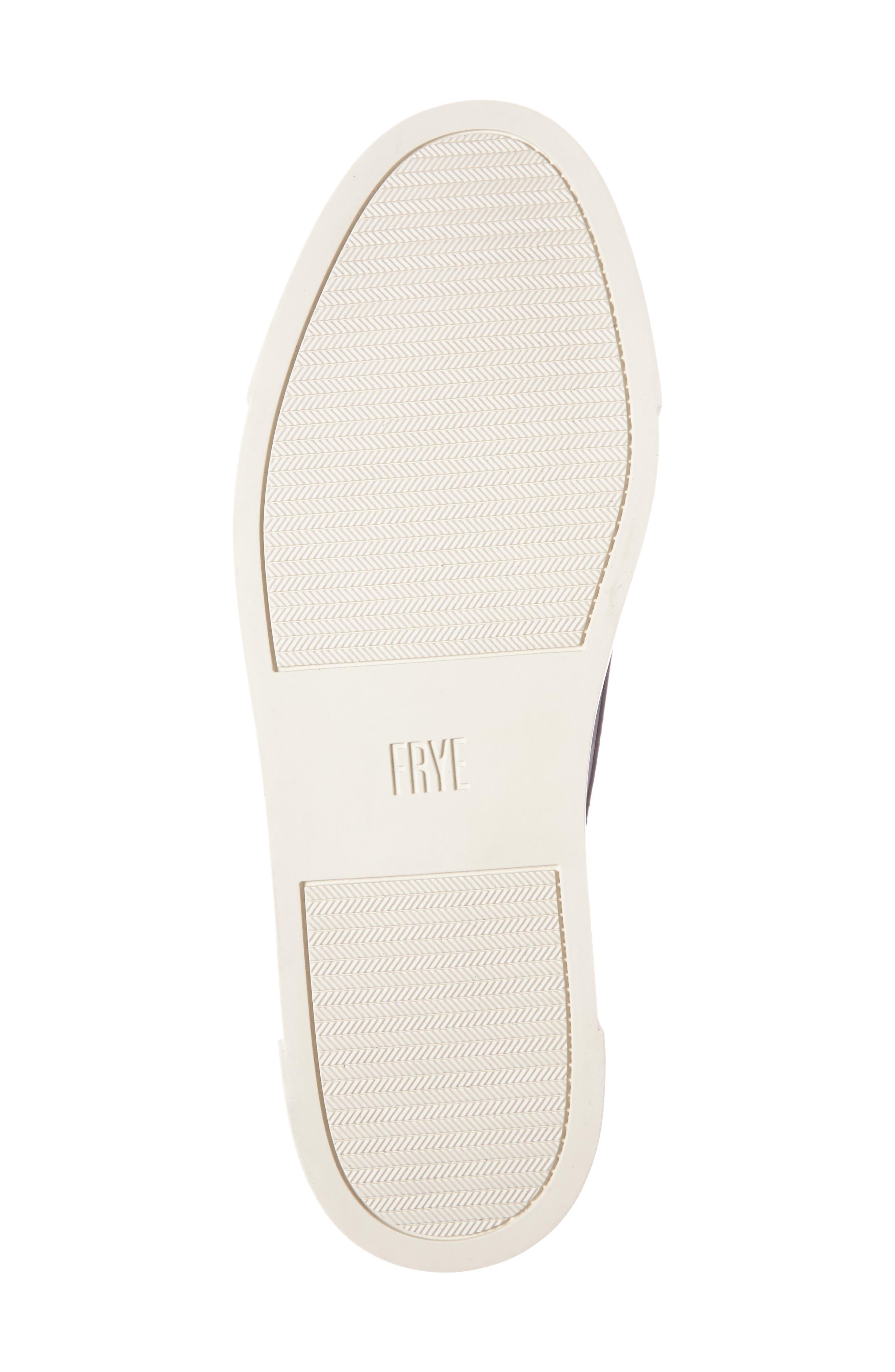 'Gemma' Kiltie Slip On-Sneaker,                             Alternate thumbnail 4, color,                             001
