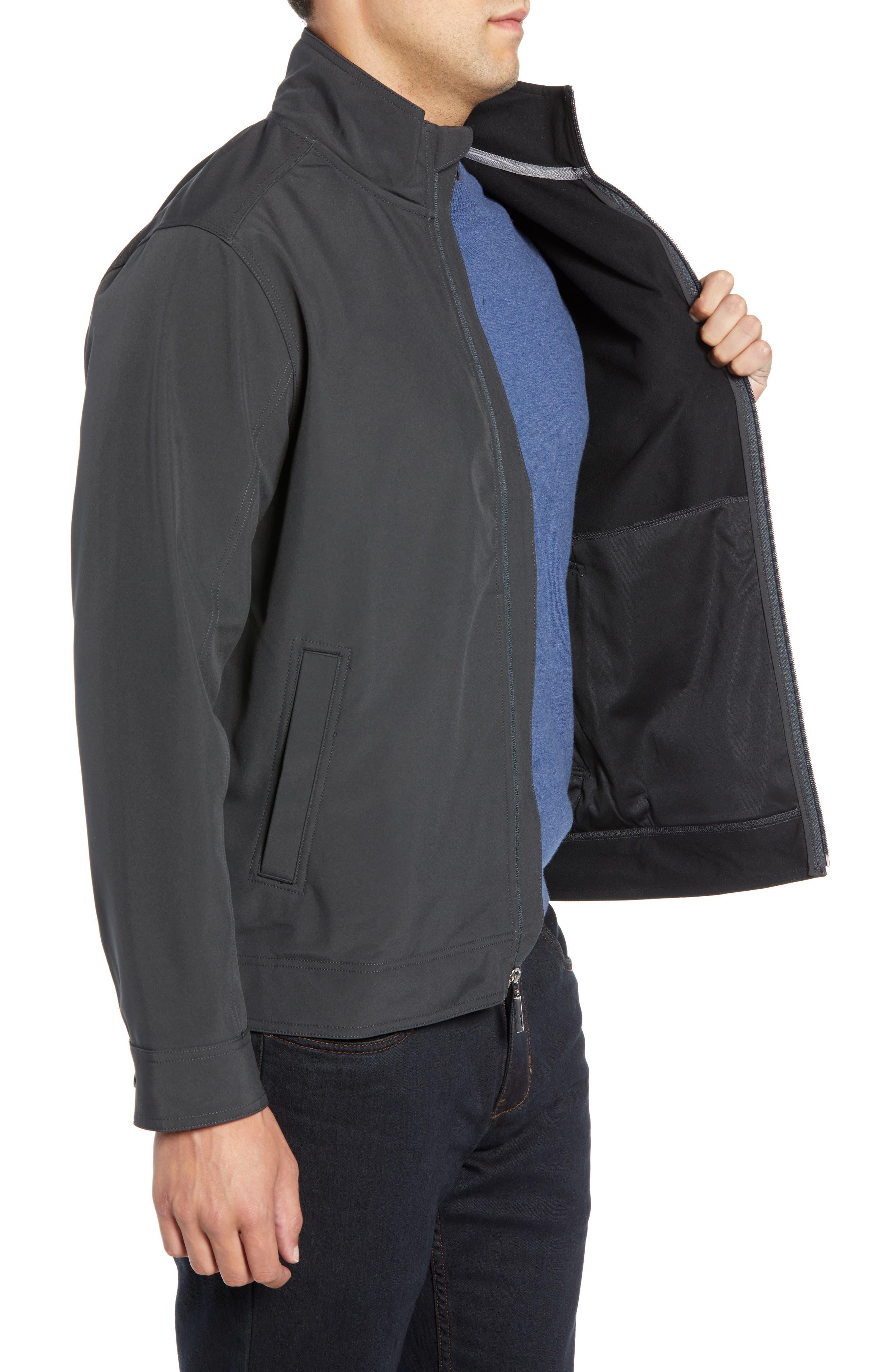 Ace Flier Zip Jacket,                             Alternate thumbnail 3, color,                             ASH GREY