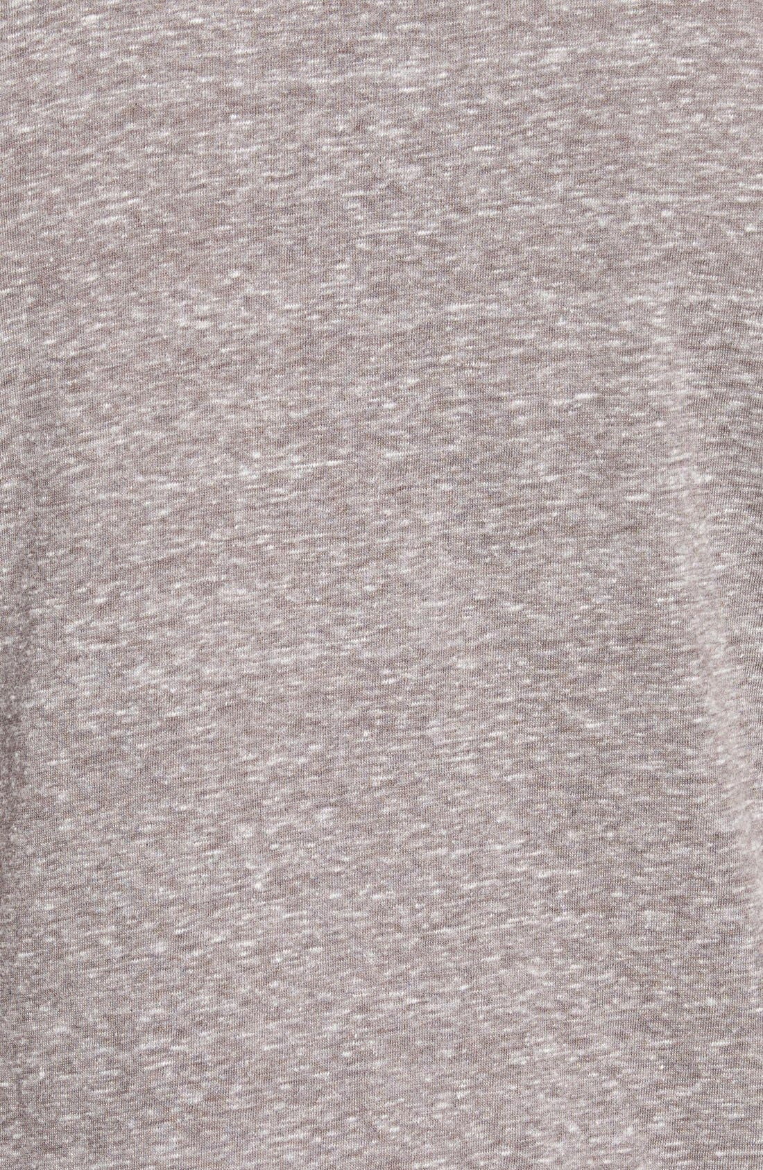 'Los Angeles Dodgers - No Hitter' Tailored Fit Graphic T-Shirt,                             Alternate thumbnail 3, color,                             050