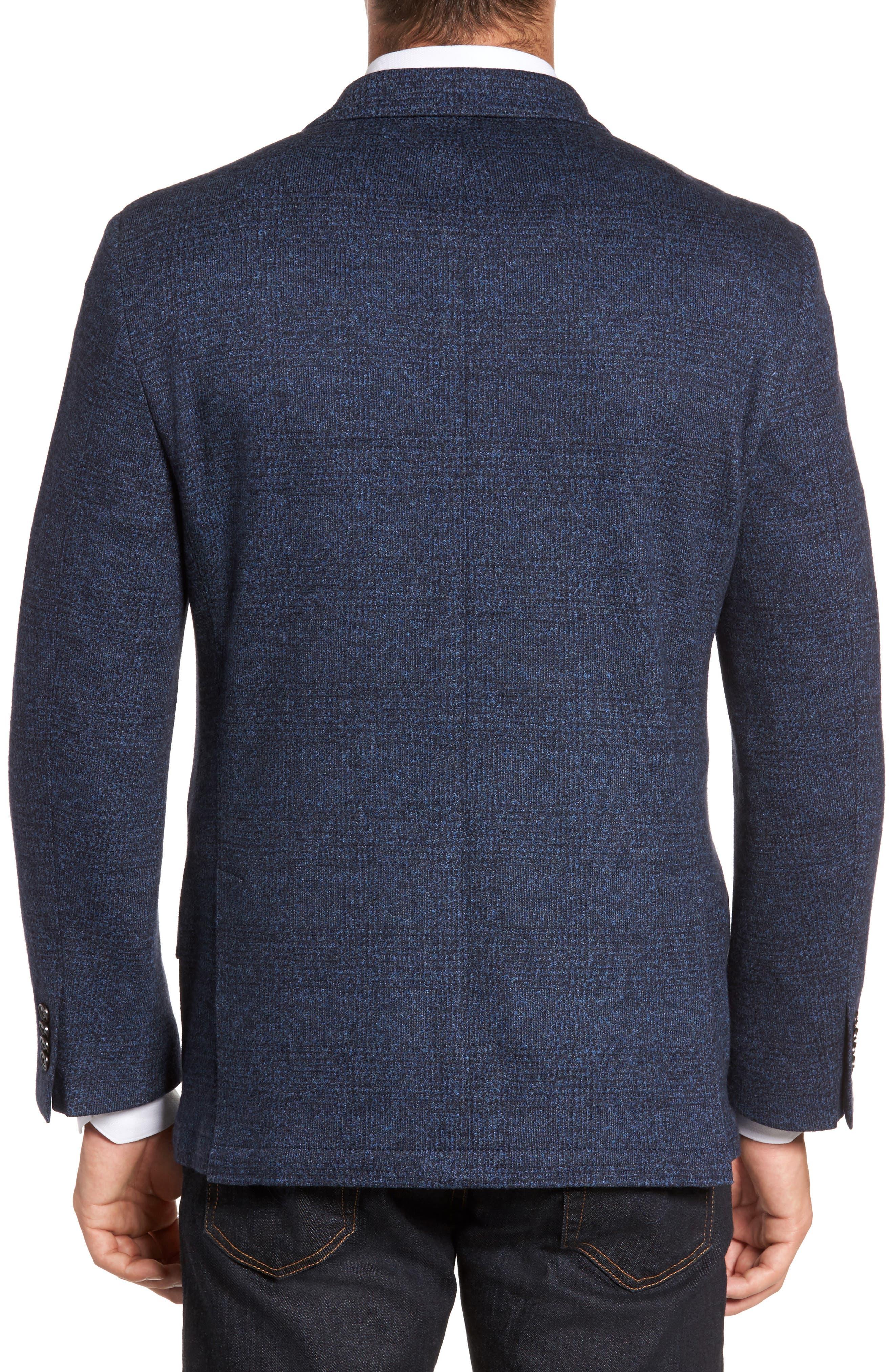 Classic Fit Cotton & Wool Jersey Sport Coat,                             Alternate thumbnail 2, color,