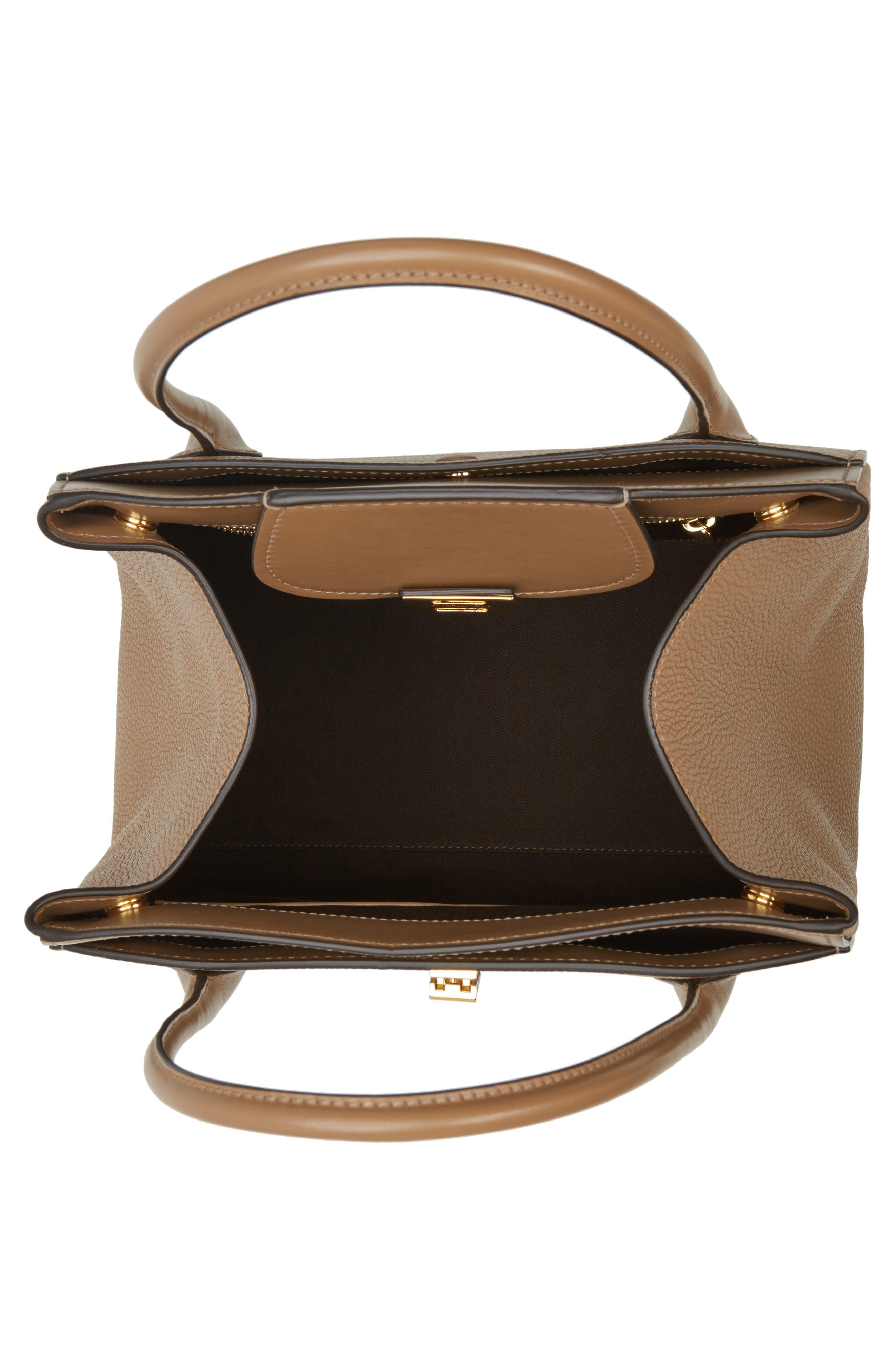 Large Bancroft Leather Top Handle Satchel,                             Alternate thumbnail 11, color,