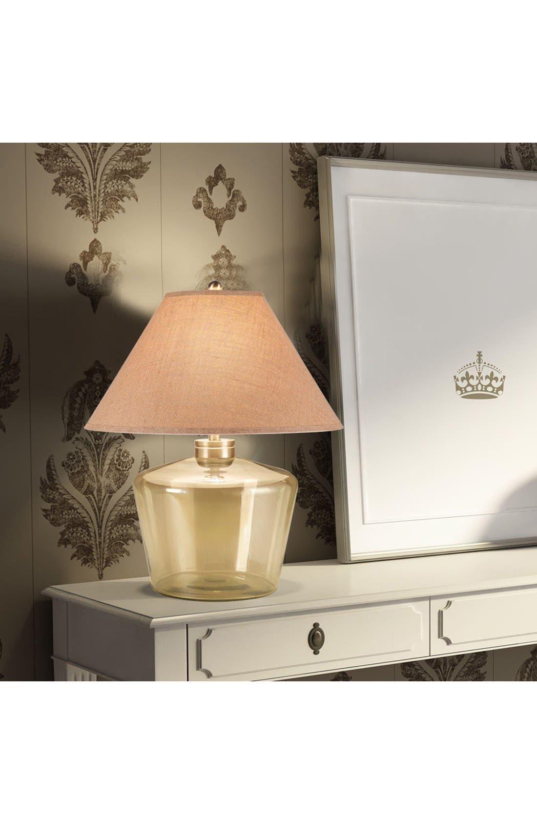 JAlexander Champagne Glass Table Lamp,                             Alternate thumbnail 2, color,                             METALLIC GOLD