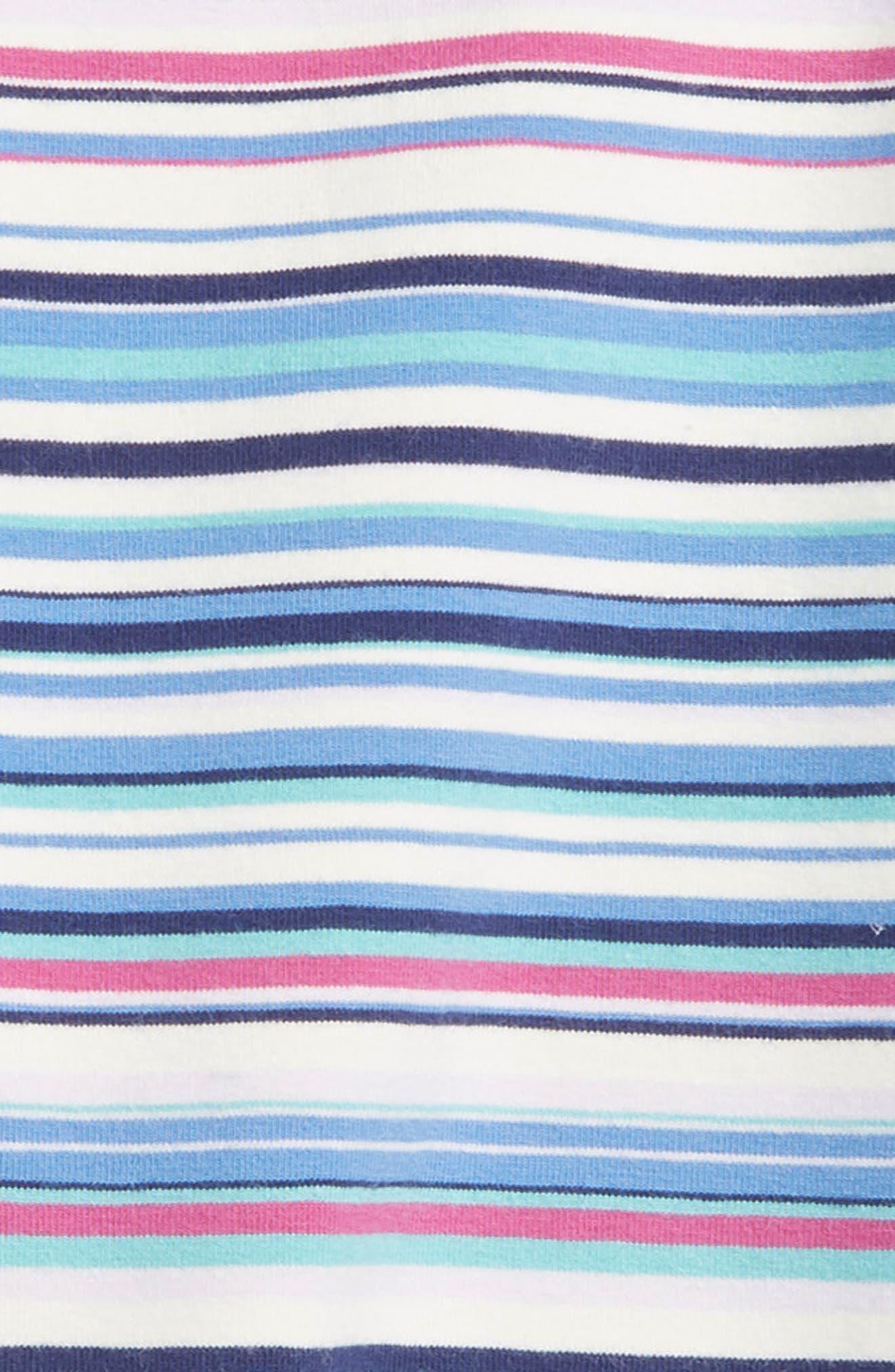 Multicolor Stripe Capri Leggings,                             Alternate thumbnail 2, color,                             495