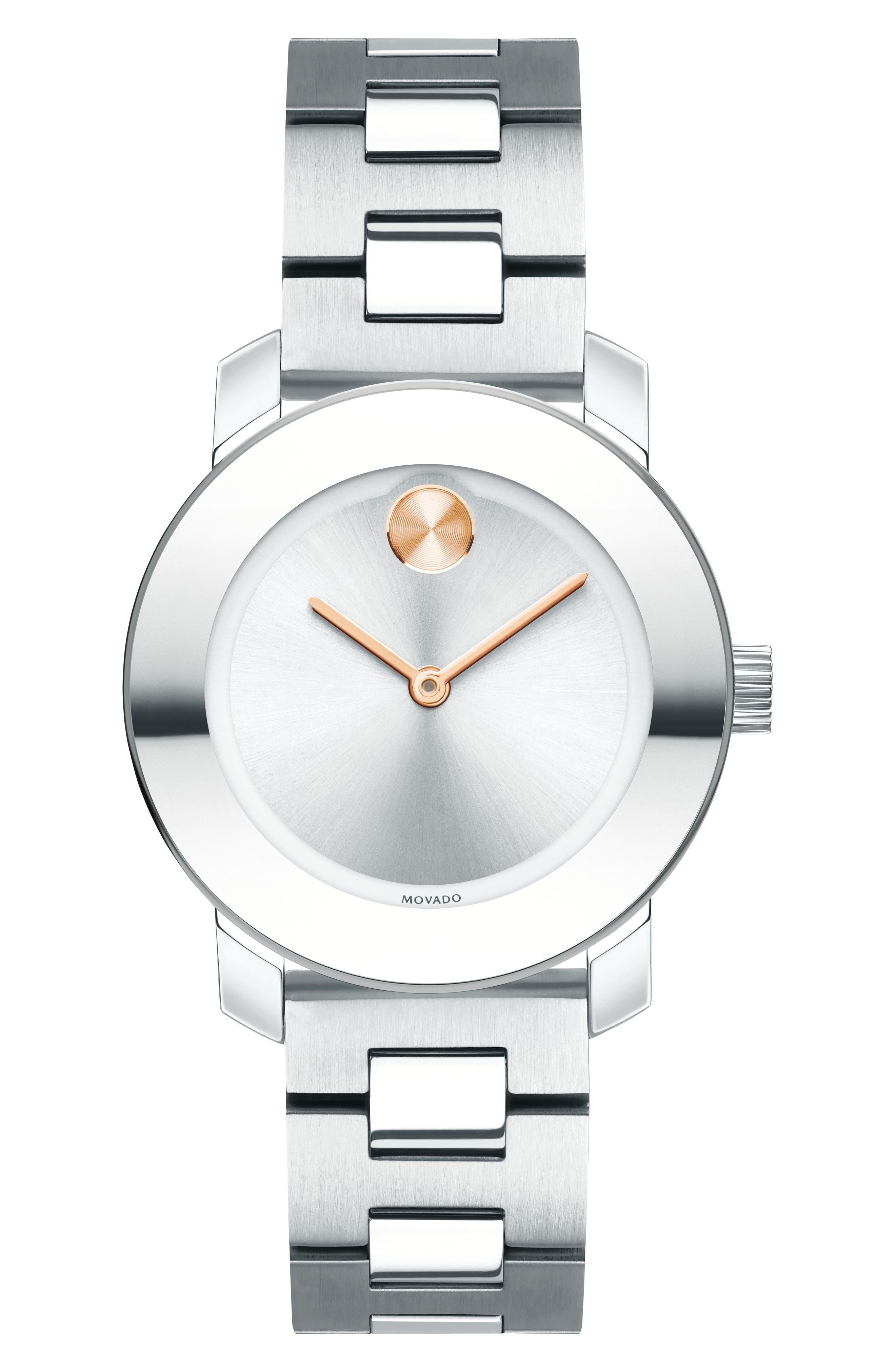 Bold Bracelet Watch, 30mm,                         Main,                         color, 040