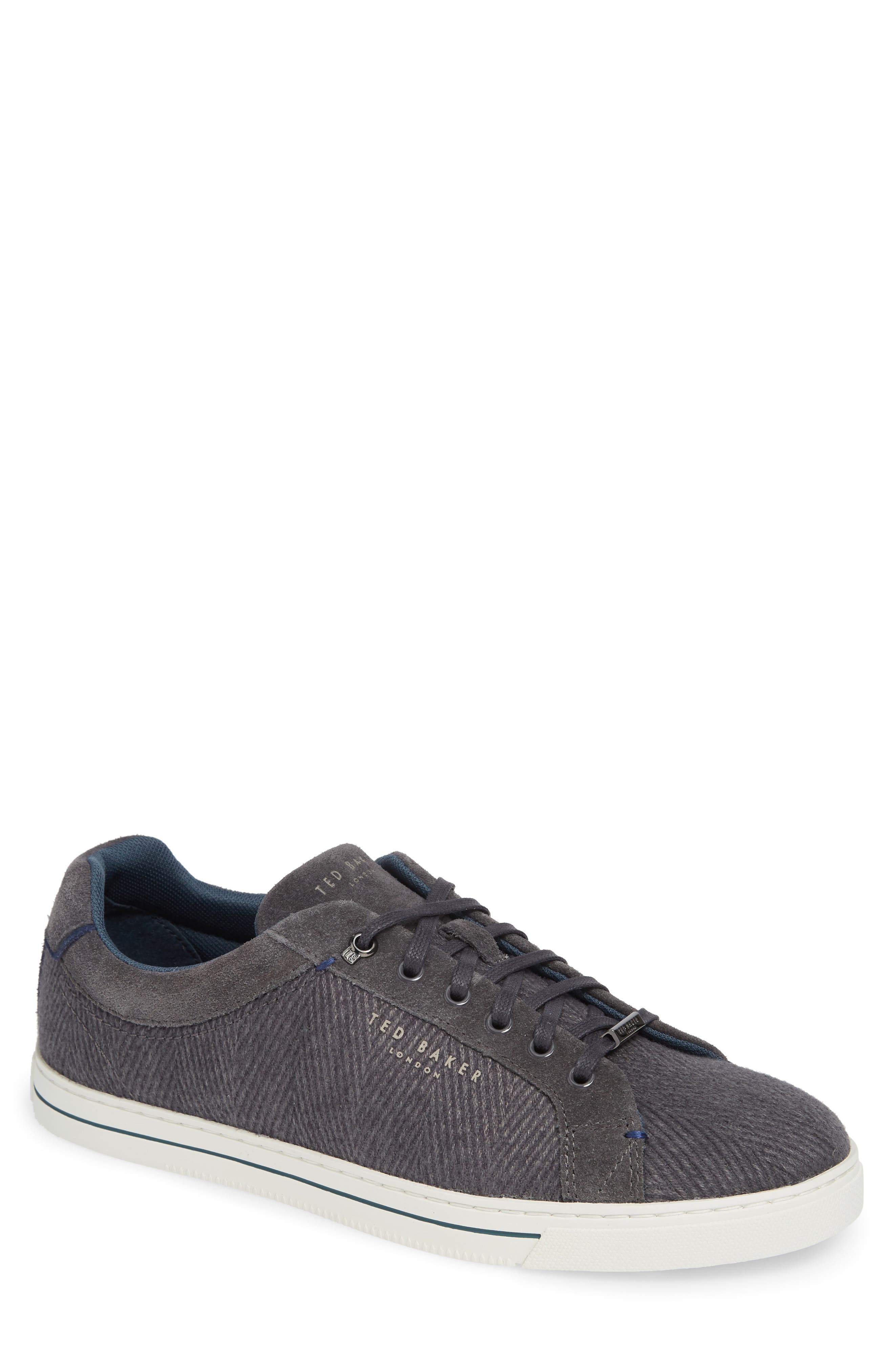 Werill Sneaker,                         Main,                         color, DARK GREY WOOL