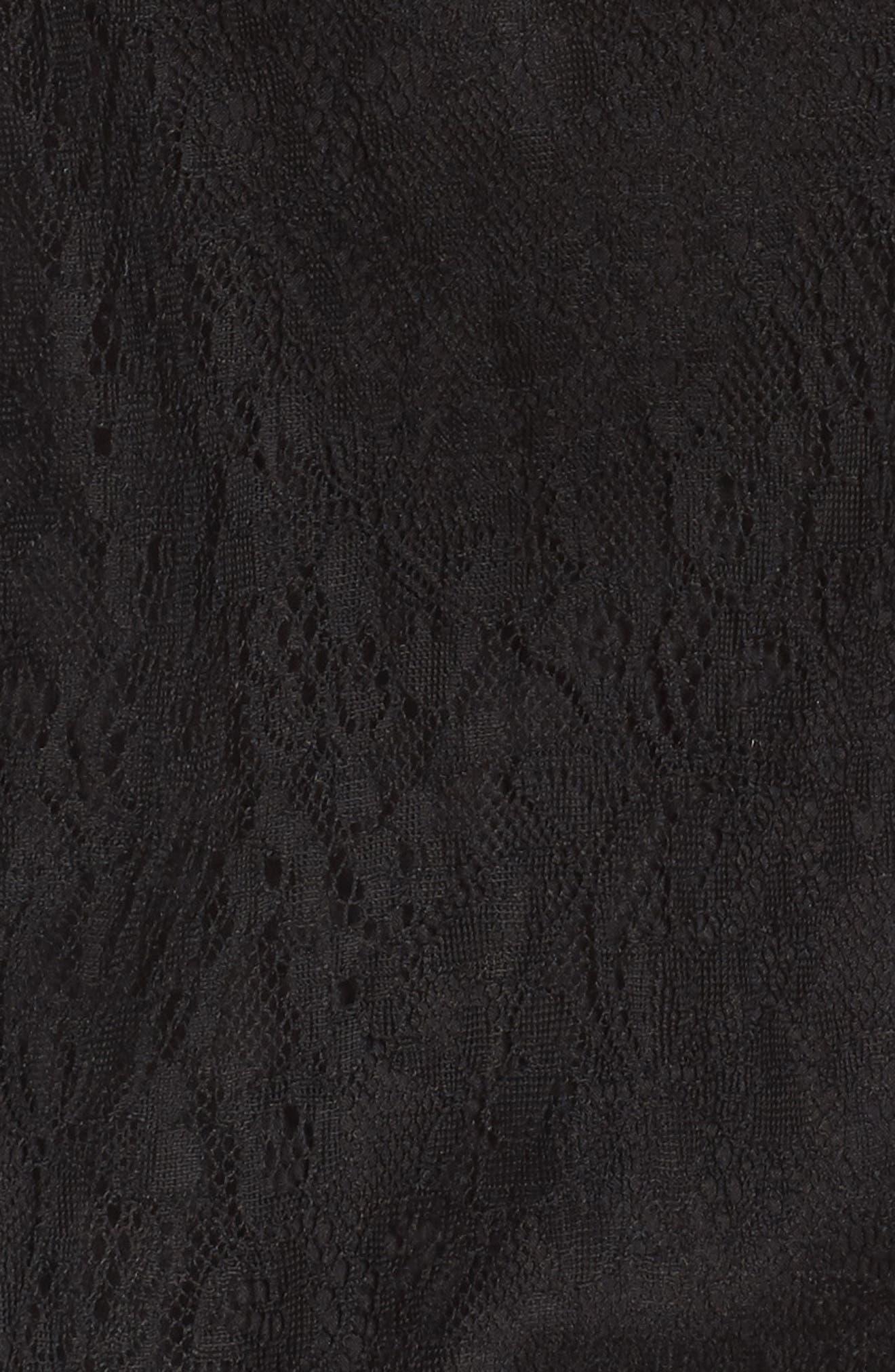 Lace Dress,                             Alternate thumbnail 5, color,                             001