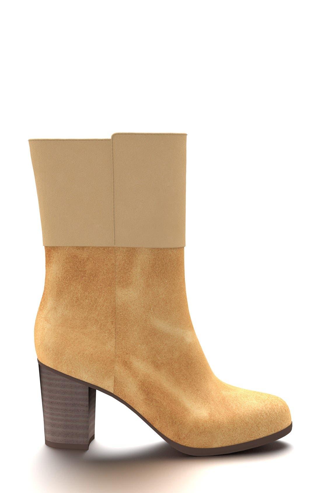Block Heel Boot,                             Alternate thumbnail 33, color,